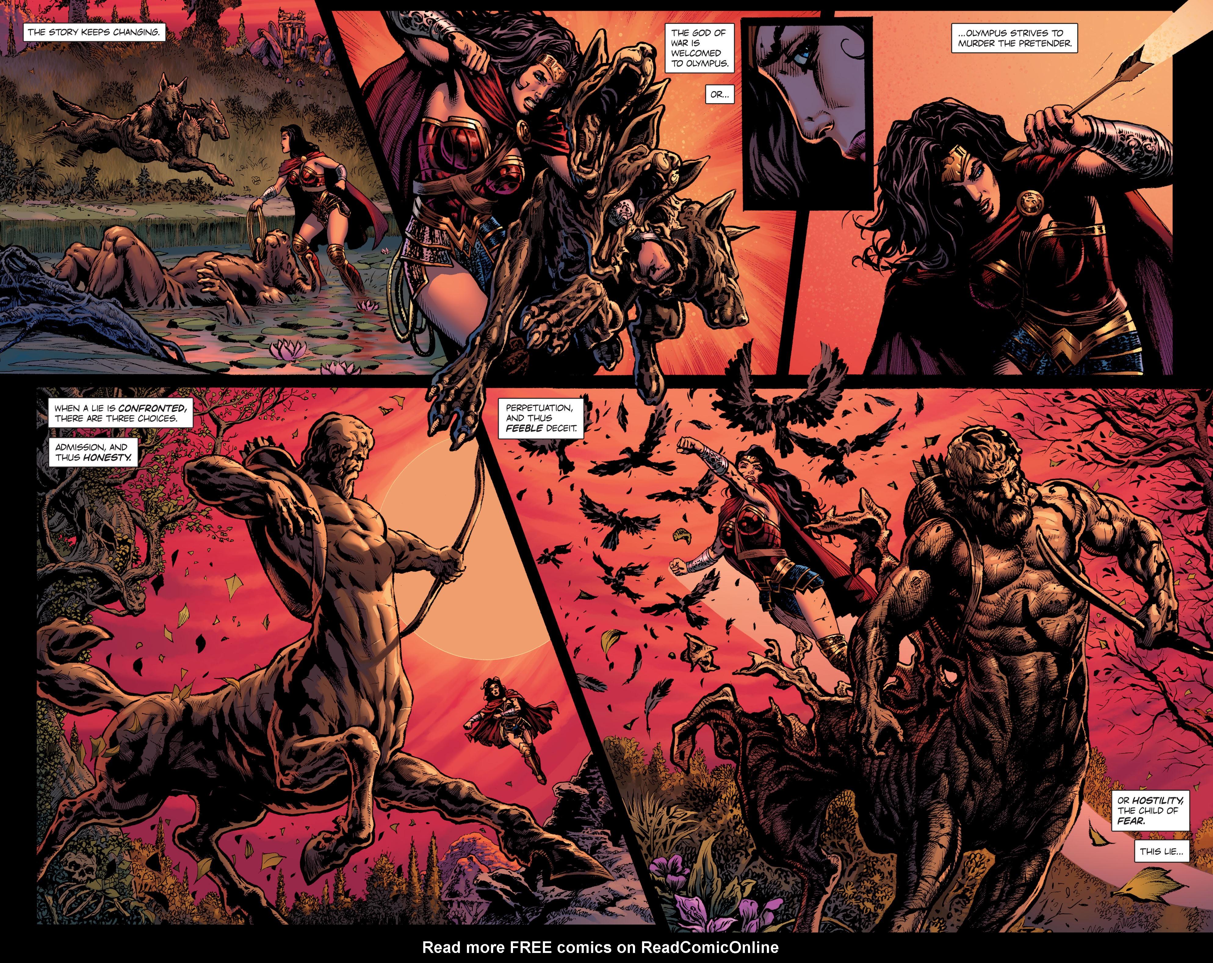 Read online Wonder Woman: Rebirth comic -  Issue # Full - 20