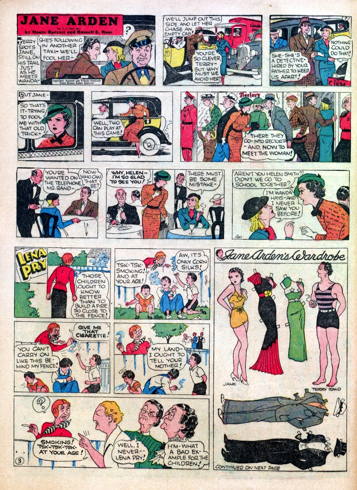 Read online Famous Funnies comic -  Issue #30 - 52