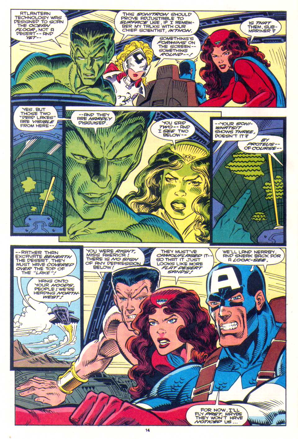 Read online The Invaders (1993) comic -  Issue #3 - 11