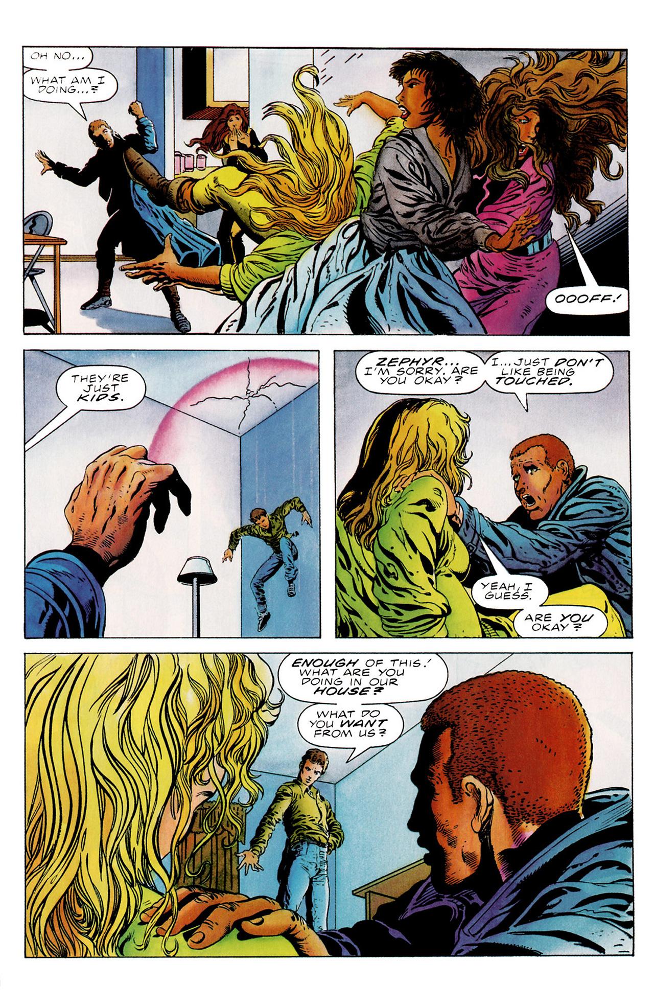 Read online Harbinger (1992) comic -  Issue #18 - 17