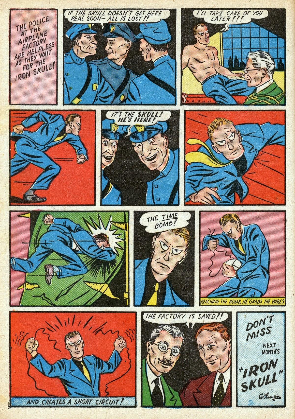 Read online Amazing Man Comics comic -  Issue #16 - 22