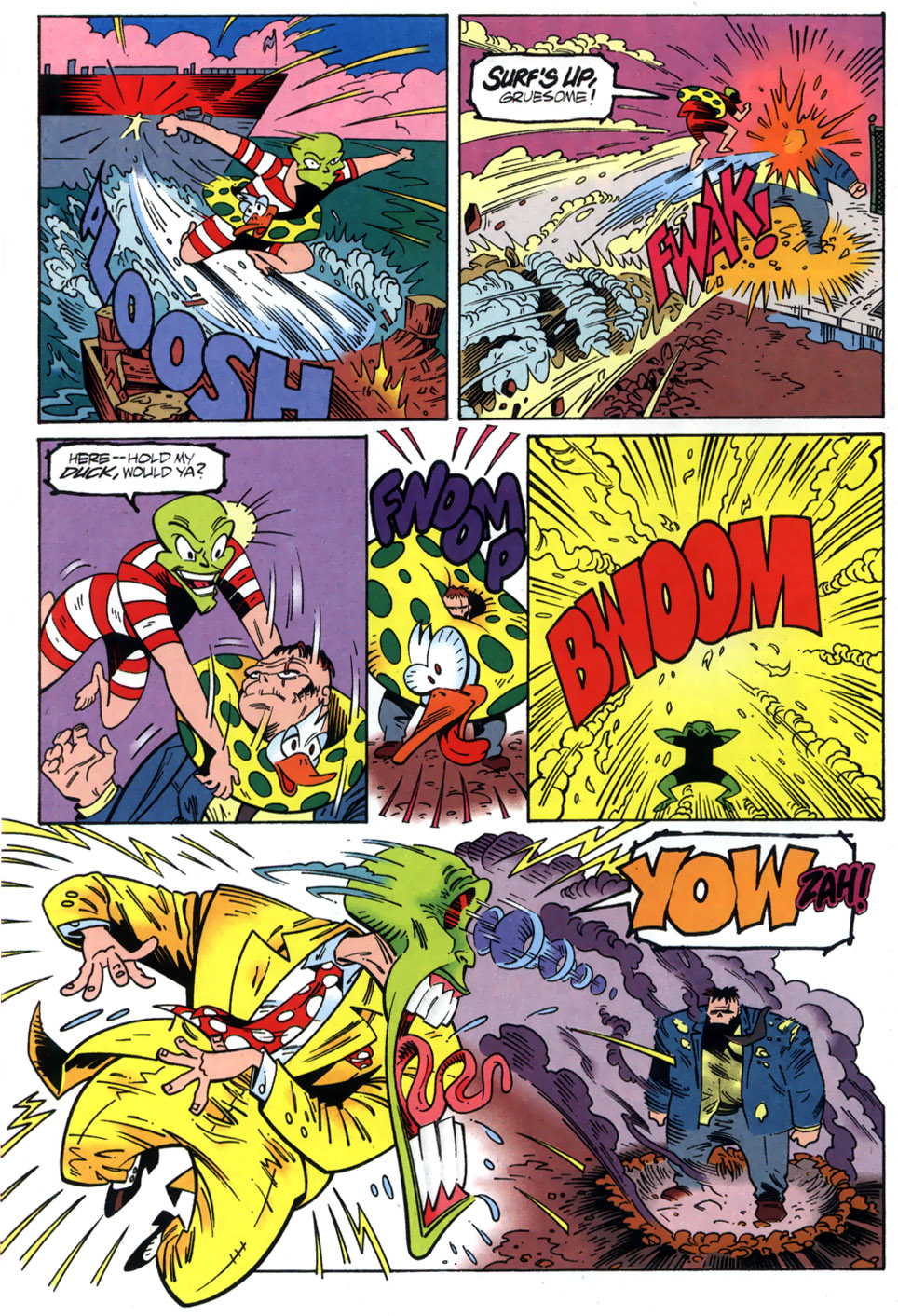 Read online Adventures Of The Mask comic -  Issue #2 - 10
