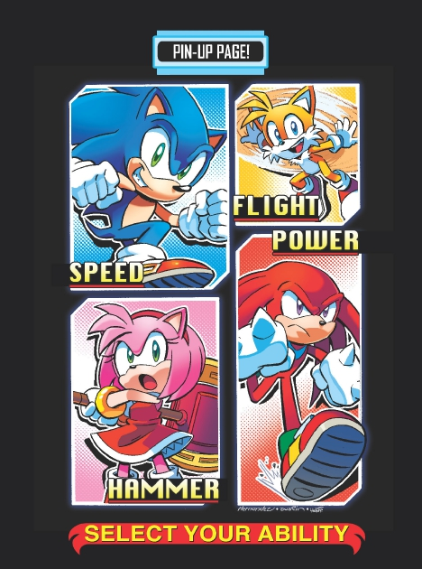 Read online Sonic Comics Spectacular: Speed of Sound comic -  Issue # Full - 37