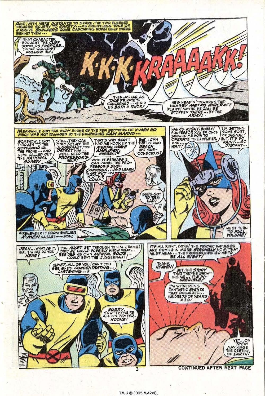 Read online Uncanny X-Men (1963) comic -  Issue #81 - 5