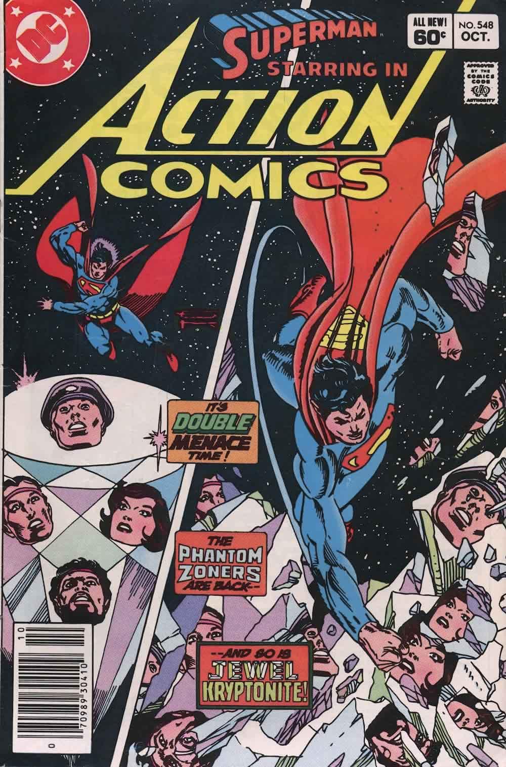 Action Comics (1938) 548 Page 0
