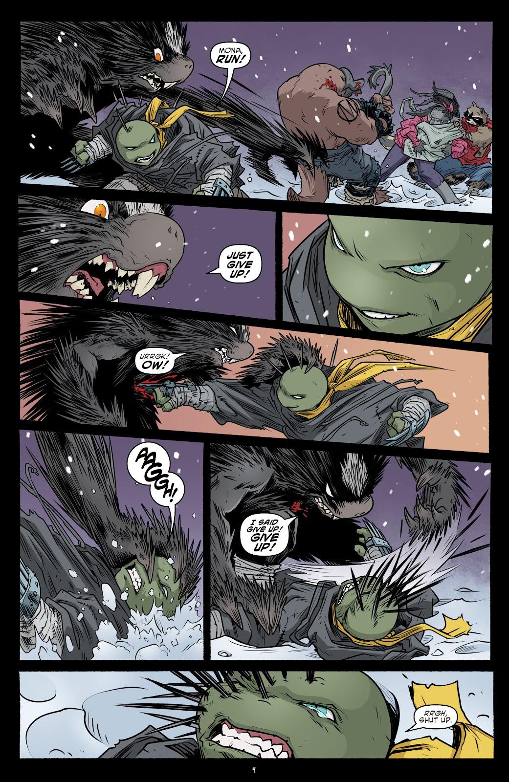 Read online Teenage Mutant Ninja Turtles (2011) comic -  Issue #102 - 6