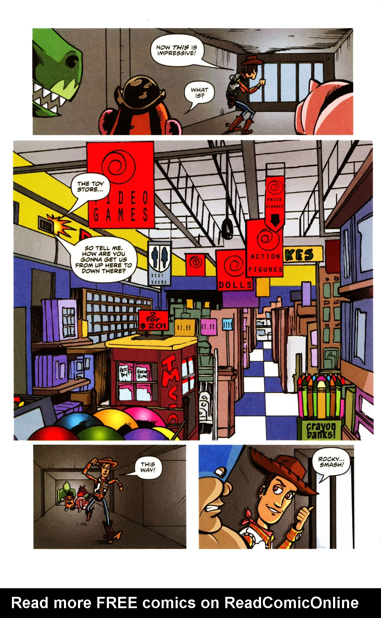 Read online Toy Story (2009) comic -  Issue #1 - 20