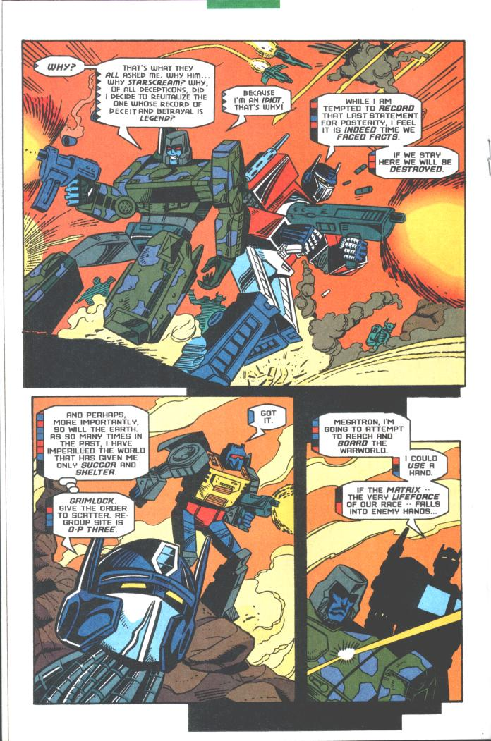 Read online Transformers: Generation 2 comic -  Issue #10 - 12