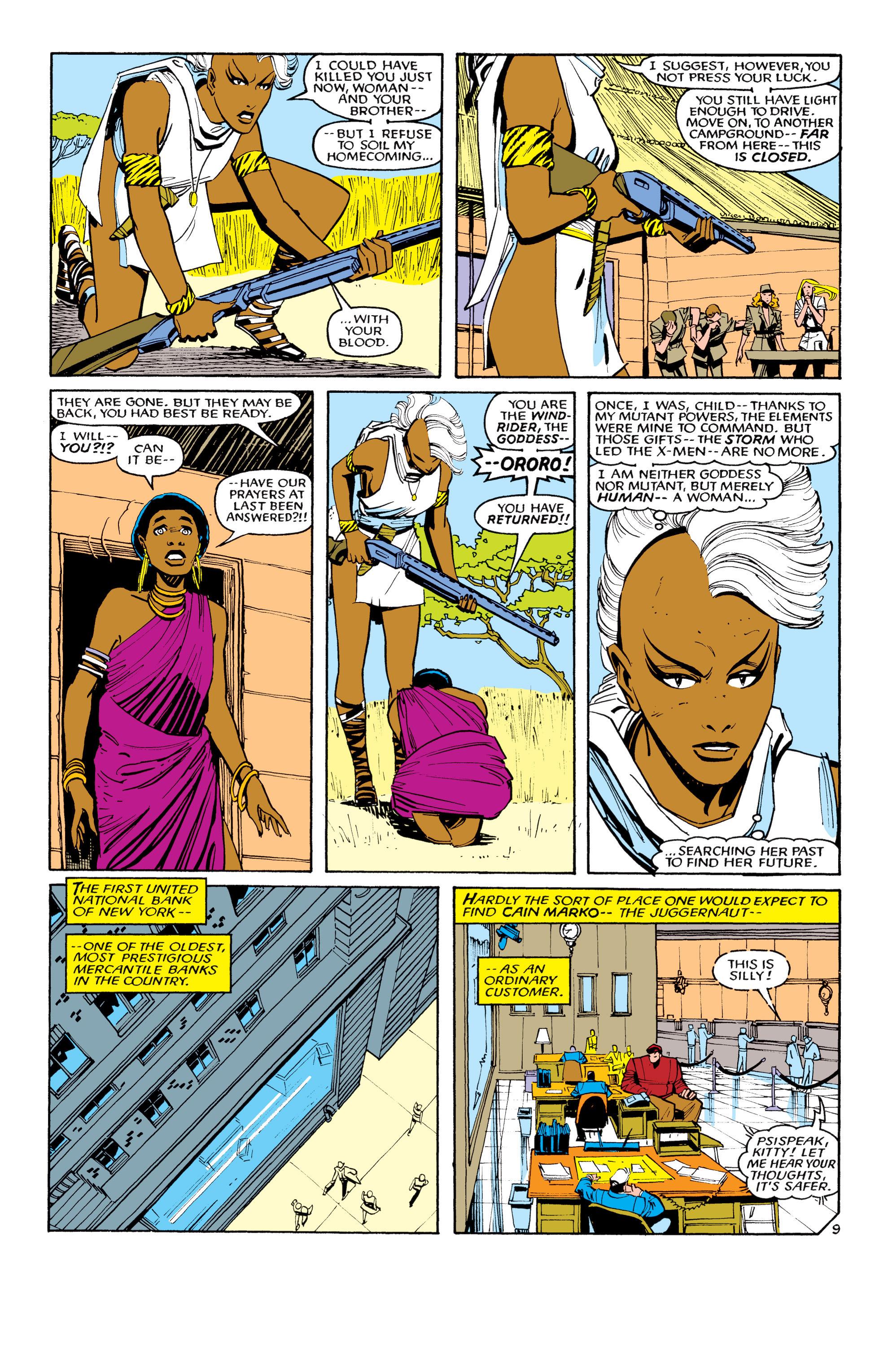 Read online Uncanny X-Men (1963) comic -  Issue #194 - 10