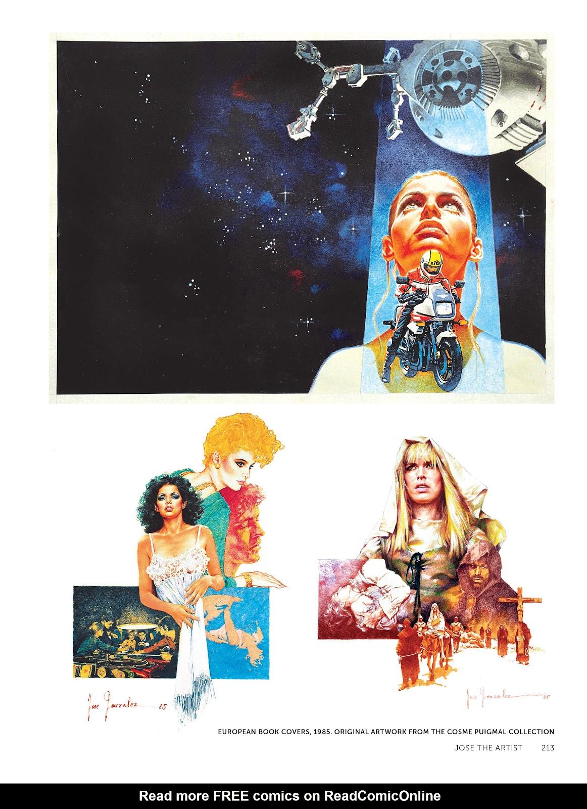 Read online The Art of Jose Gonzalez comic -  Issue # TPB (Part 3) - 16