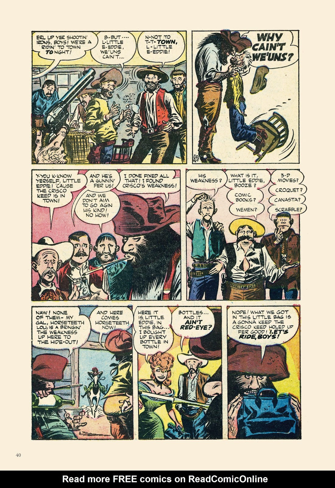 Read online Sincerest Form of Parody: The Best 1950s MAD-Inspired Satirical Comics comic -  Issue # TPB (Part 1) - 41