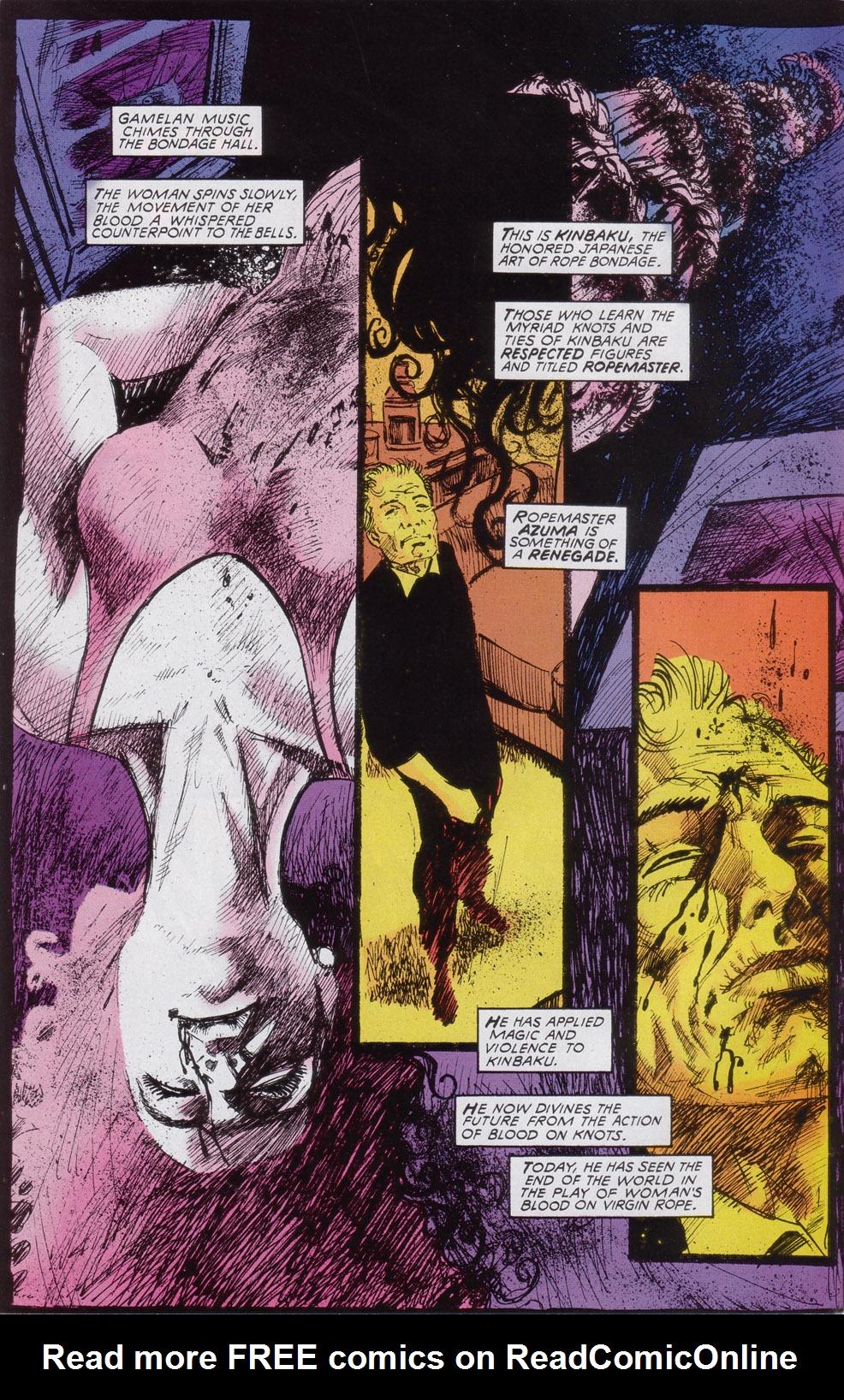 Read online Druid comic -  Issue #3 - 3