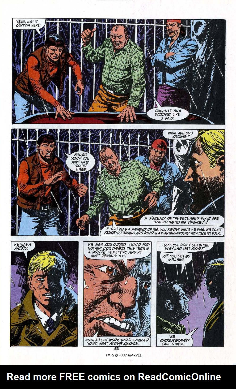 Read online Captain America (1968) comic -  Issue # _Annual 13 - 55