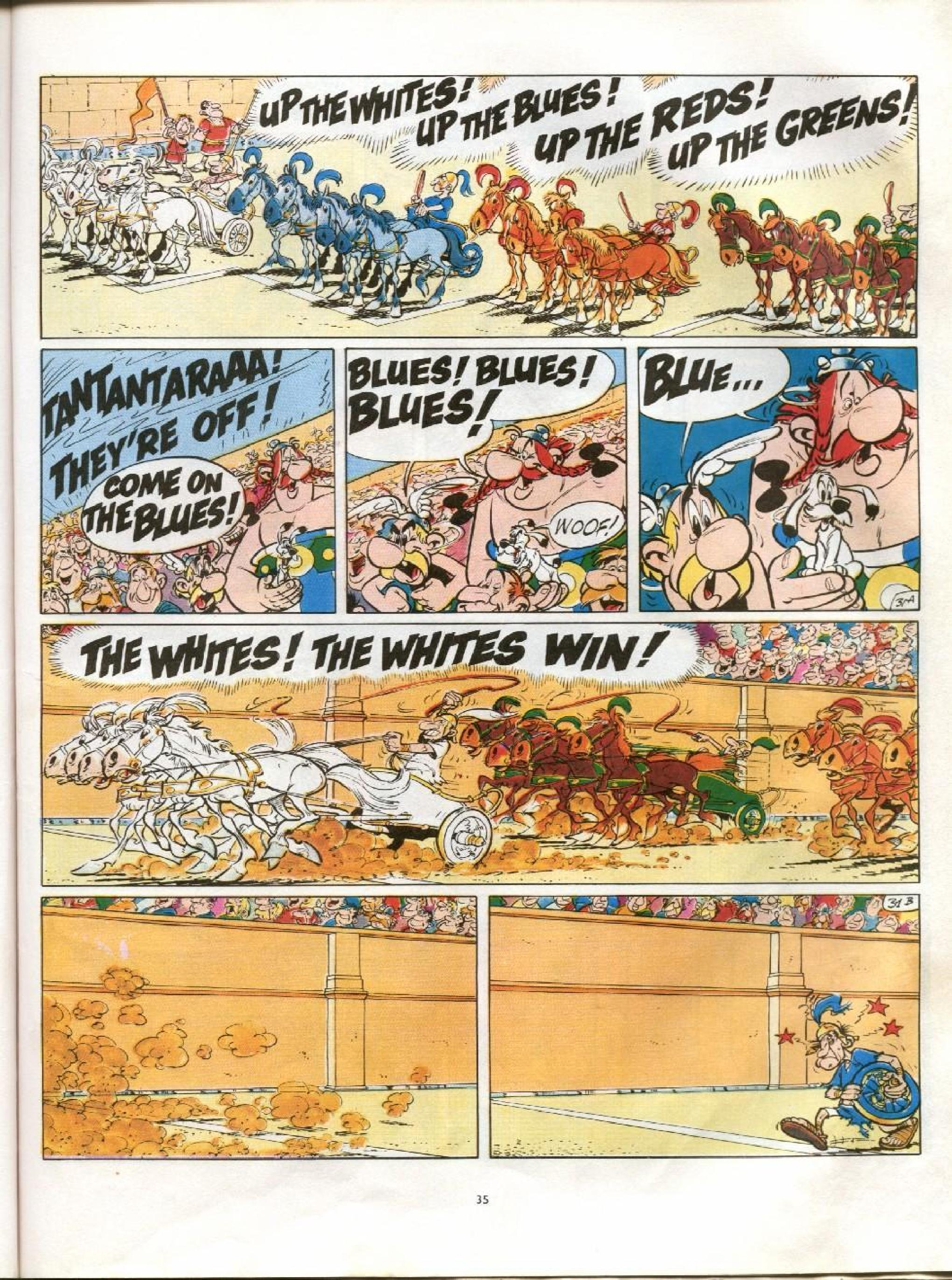 Read online Asterix comic -  Issue #13 - 32