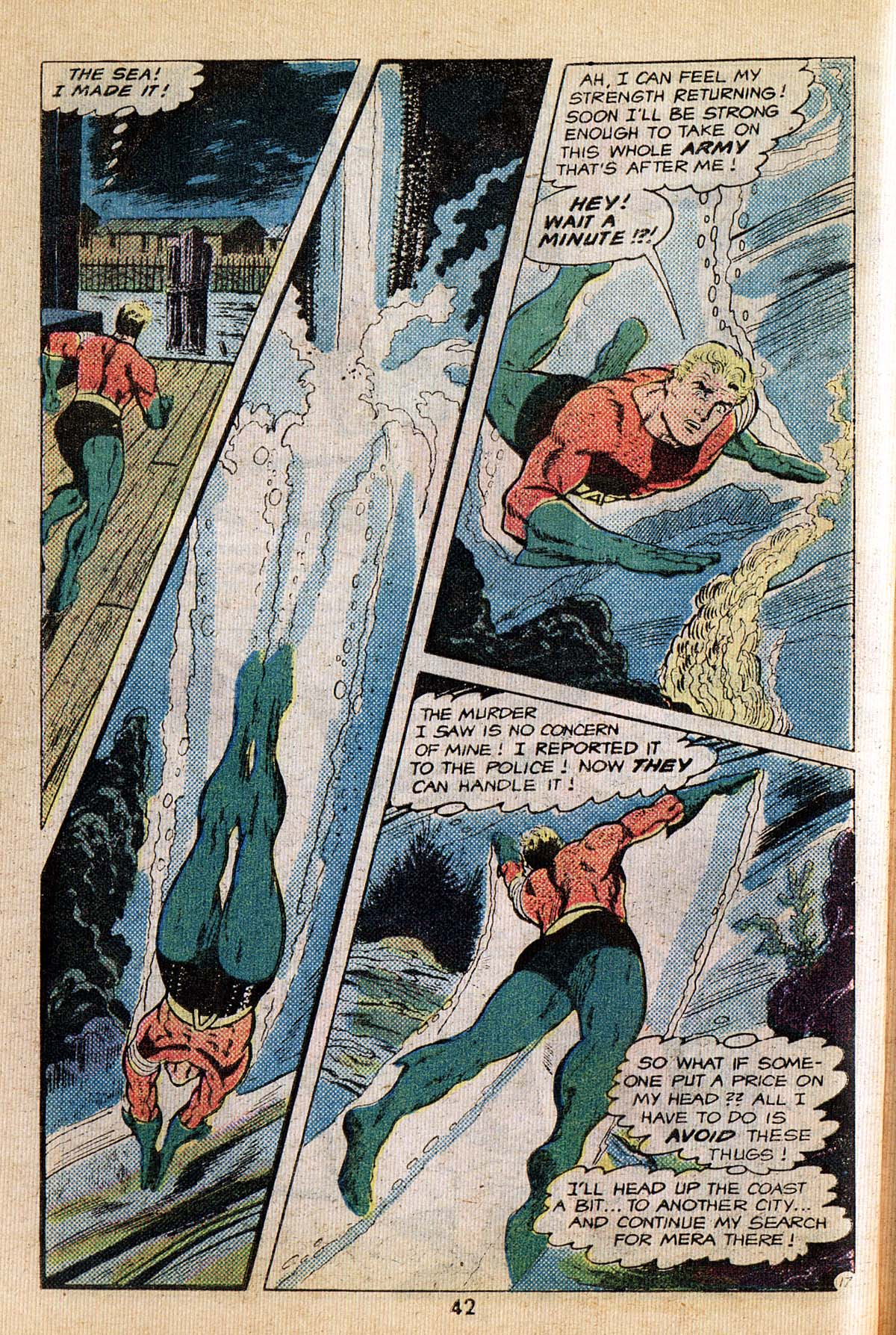 Read online Adventure Comics (1938) comic -  Issue #495 - 42