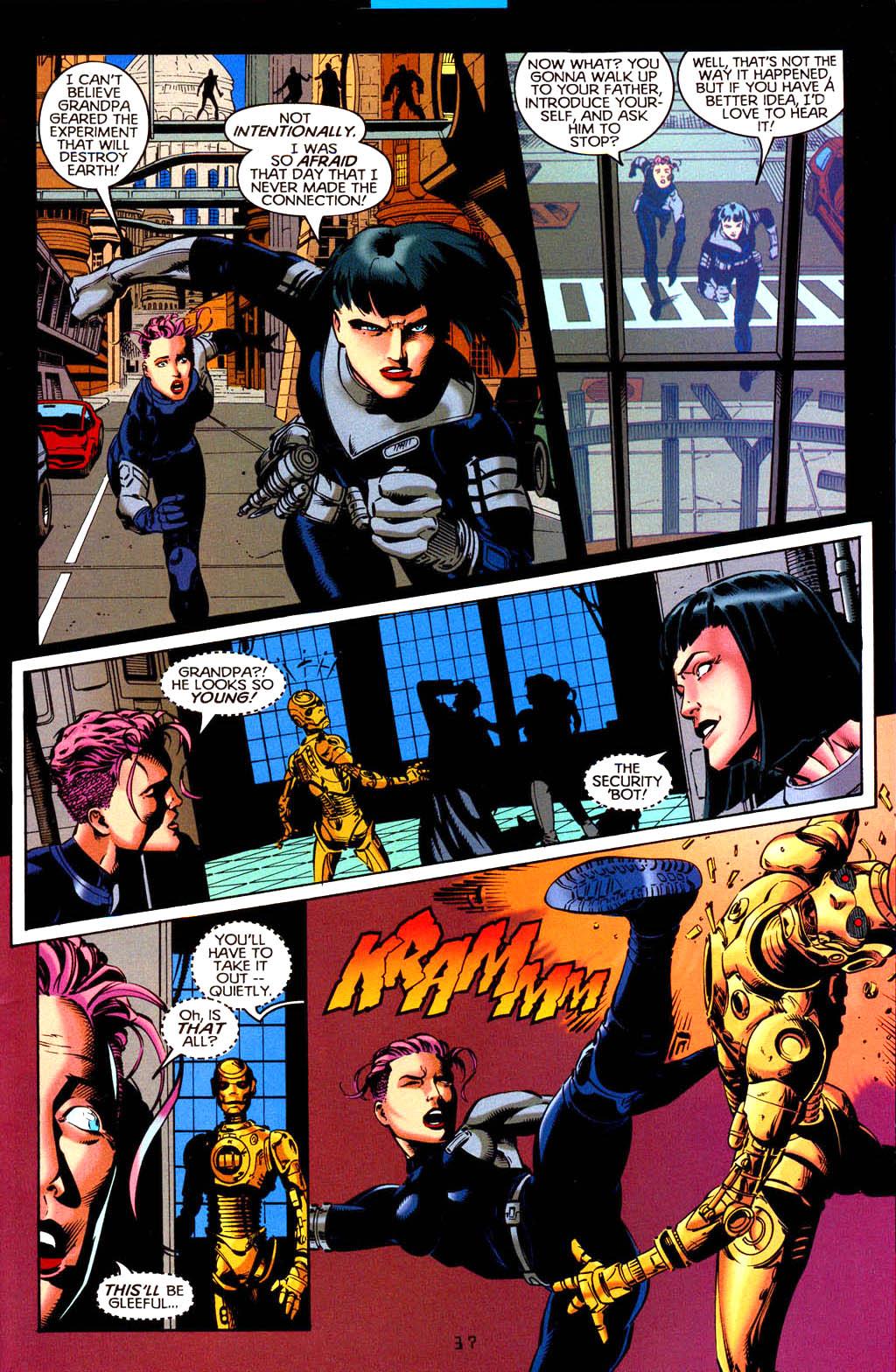 Read online Tangent Comics/ Doom Patrol comic -  Issue # Full - 38