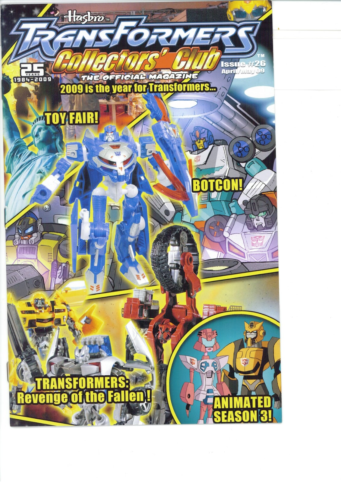 Read online Transformers: Collectors' Club comic -  Issue #26 - 1