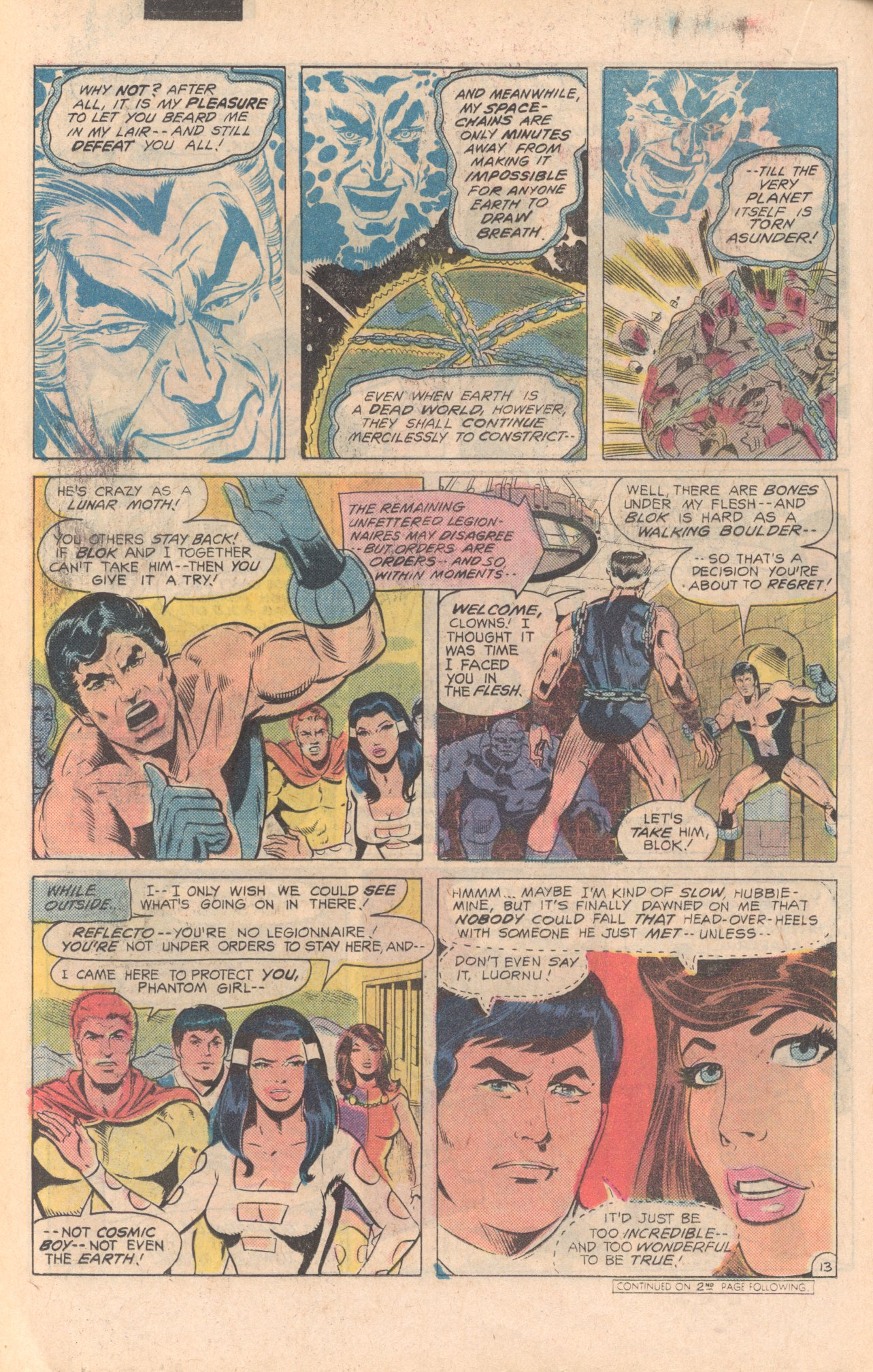 Legion of Super-Heroes (1980) 279 Page 13