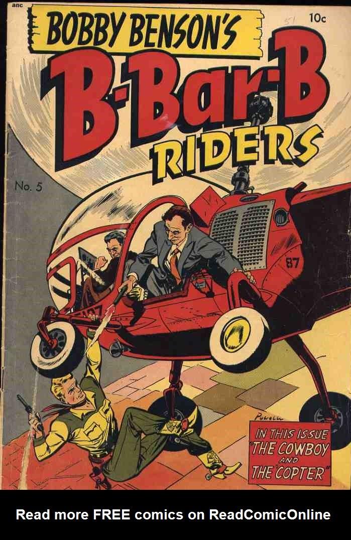 Bobby Benson's B-Bar-B Riders issue 5 - Page 1