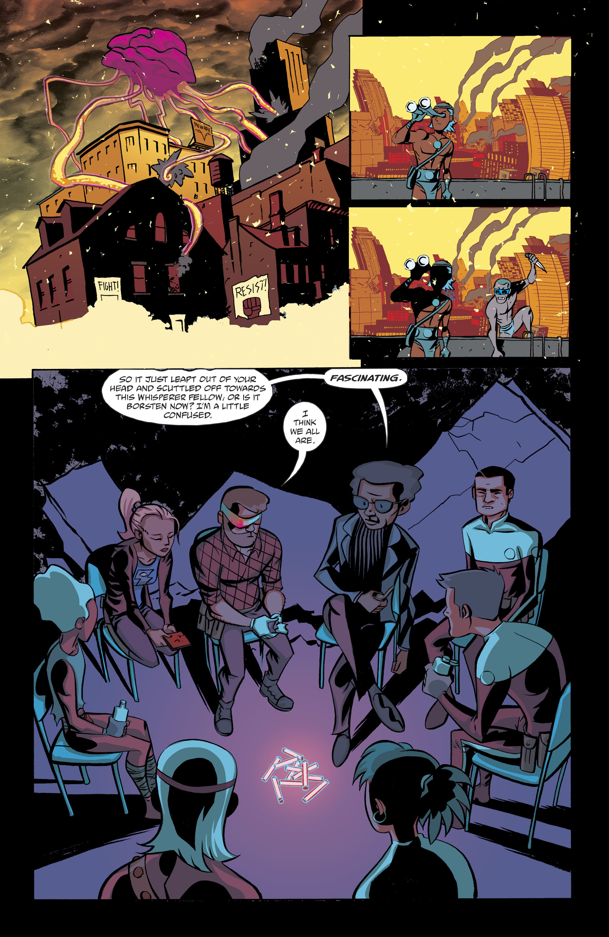 Read online Cave Carson Has a Cybernetic Eye comic -  Issue #8 - 14