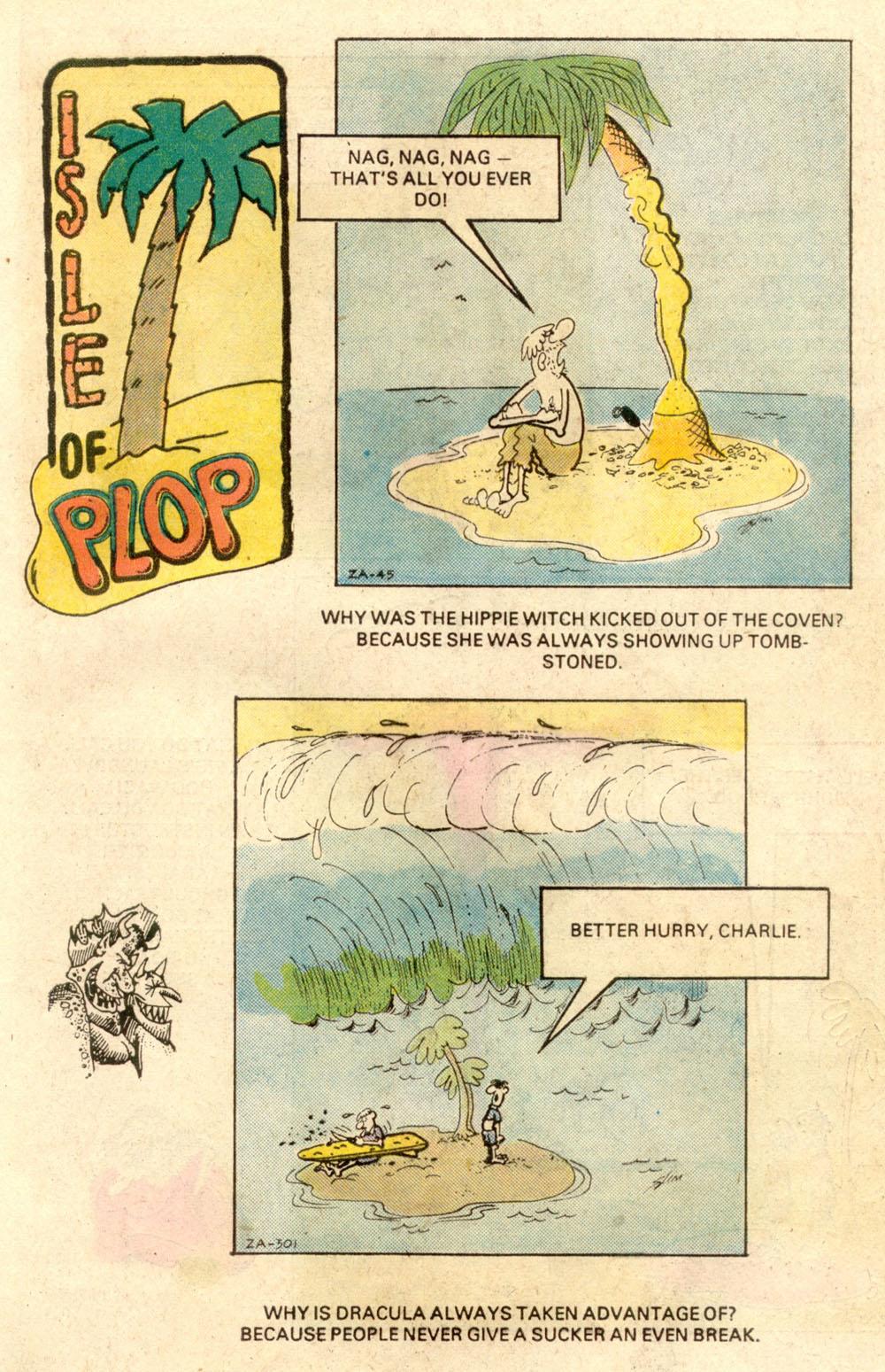 Read online Plop! comic -  Issue #21 - 21
