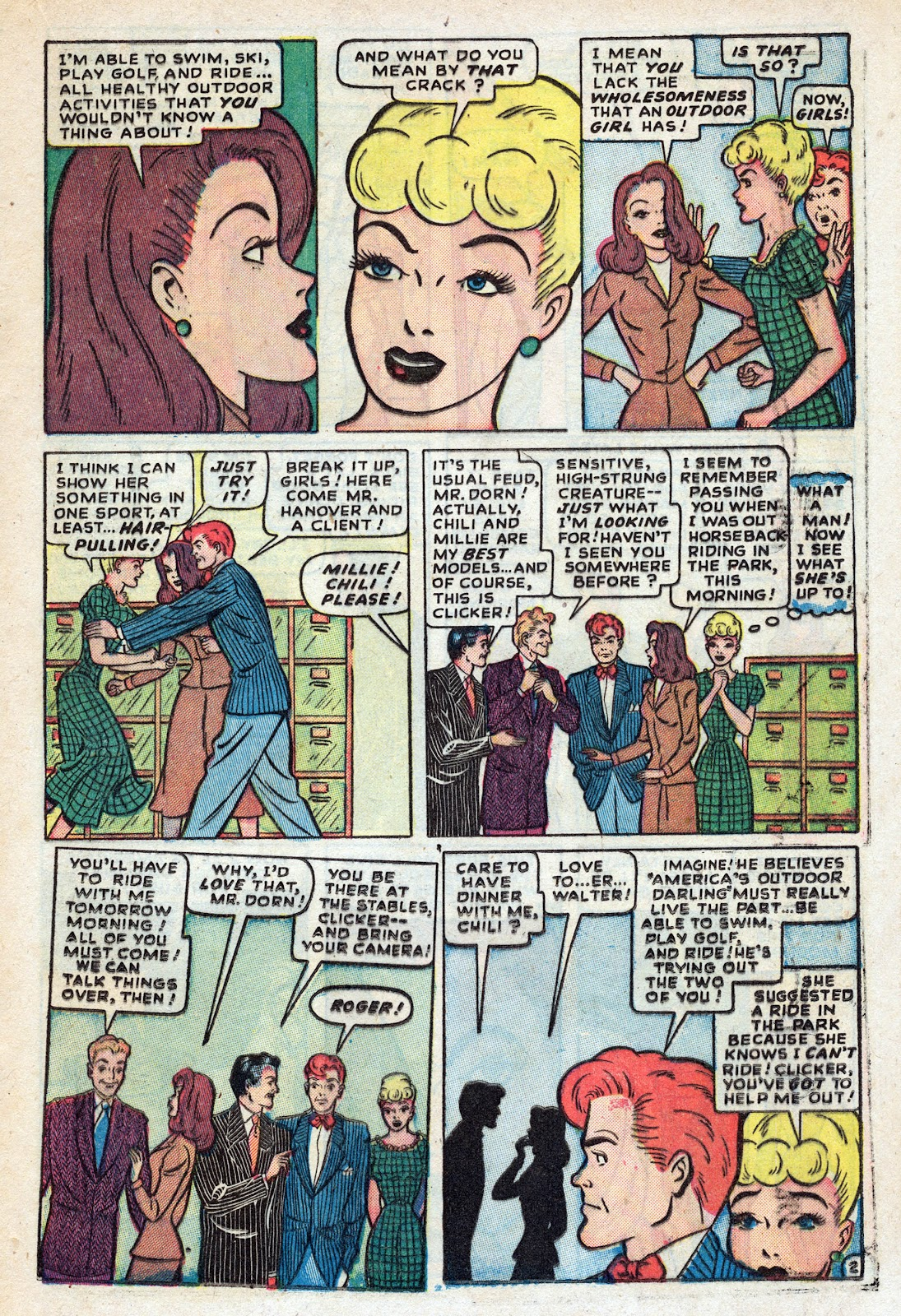 Read online Nellie The Nurse (1945) comic -  Issue #17 - 23