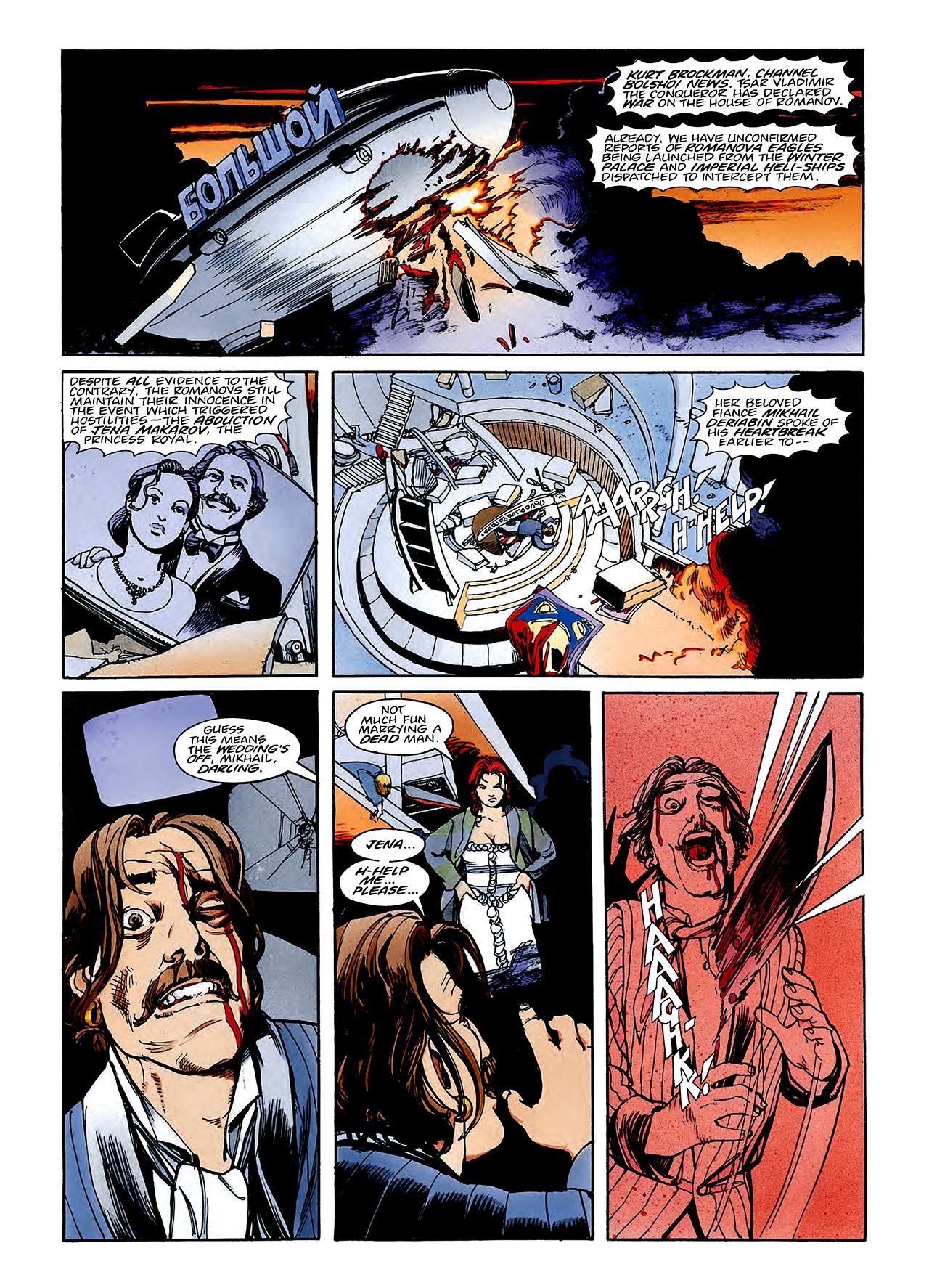 Read online Nikolai Dante comic -  Issue # TPB 3 - 115
