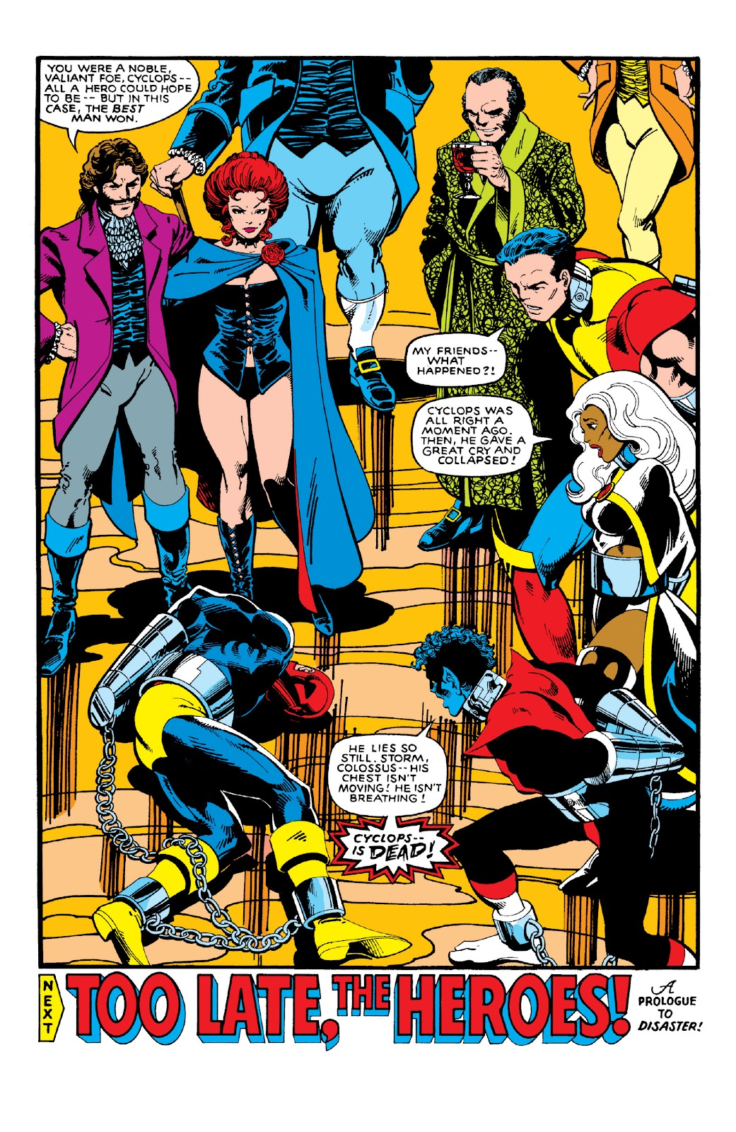 Read online X-Men Milestones: Dark Phoenix Saga comic -  Issue # TPB (Part 1) - 94