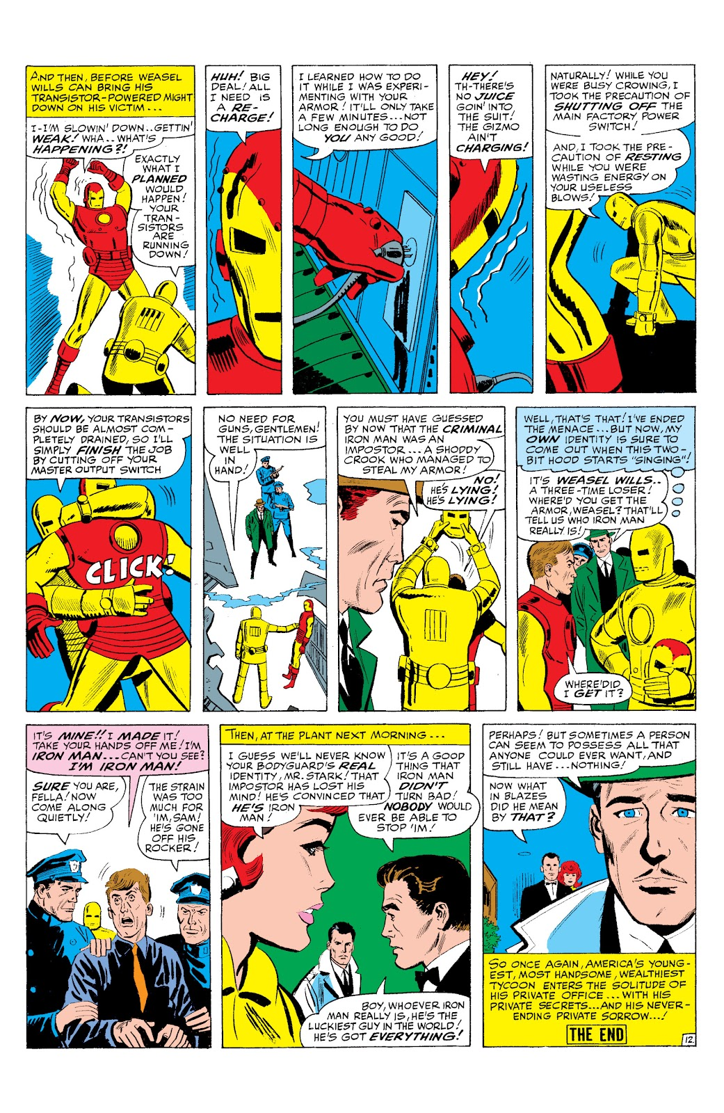 Read online Marvel Masterworks: The Invincible Iron Man comic -  Issue # TPB 2 (Part 3) - 40