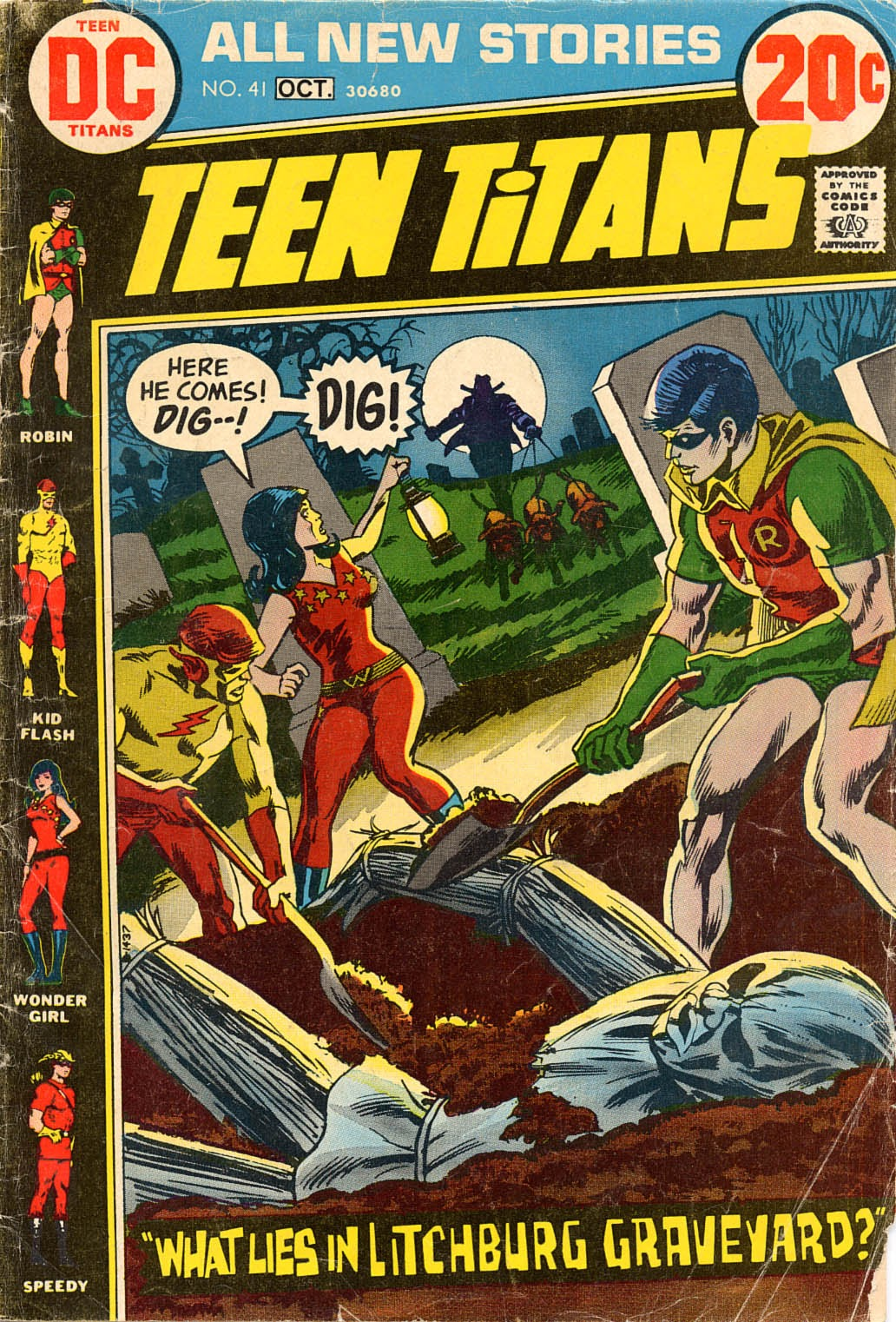 Teen Titans (1966) issue 41 - Page 1