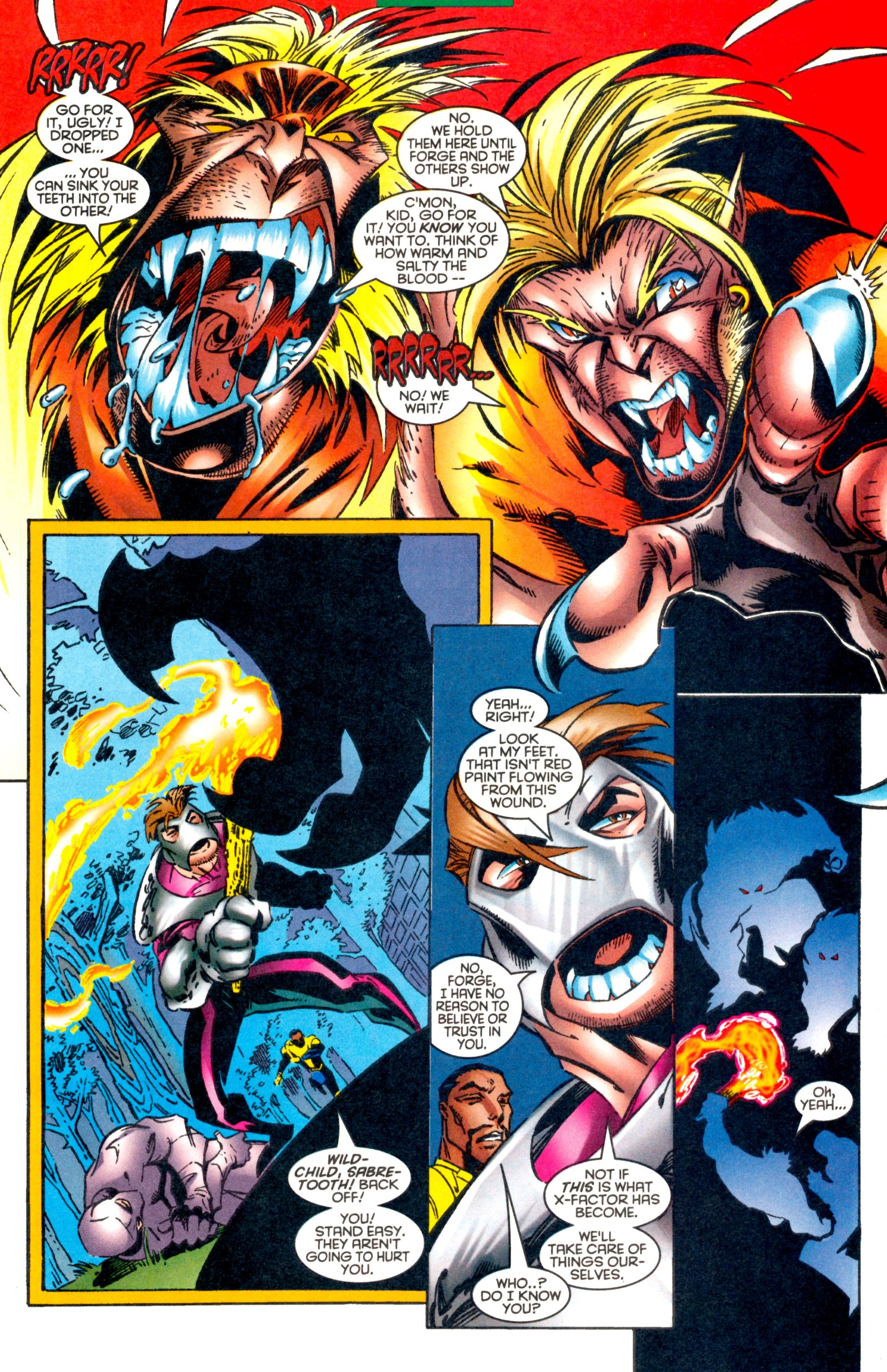 Read online X-Factor (1986) comic -  Issue #128 - 23