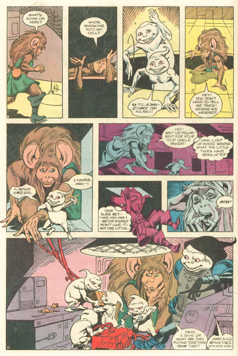 Read online Atari Force (1984) comic -  Issue #20 - 8