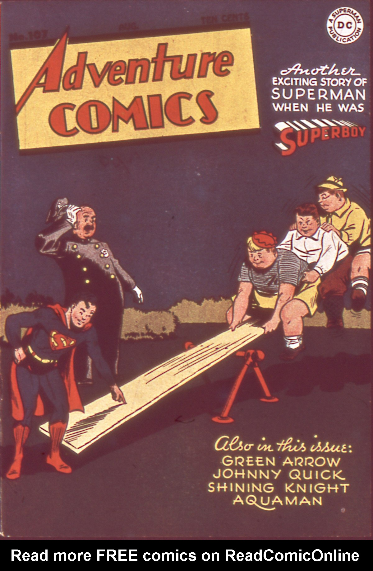 Adventure Comics (1938) 107 Page 1
