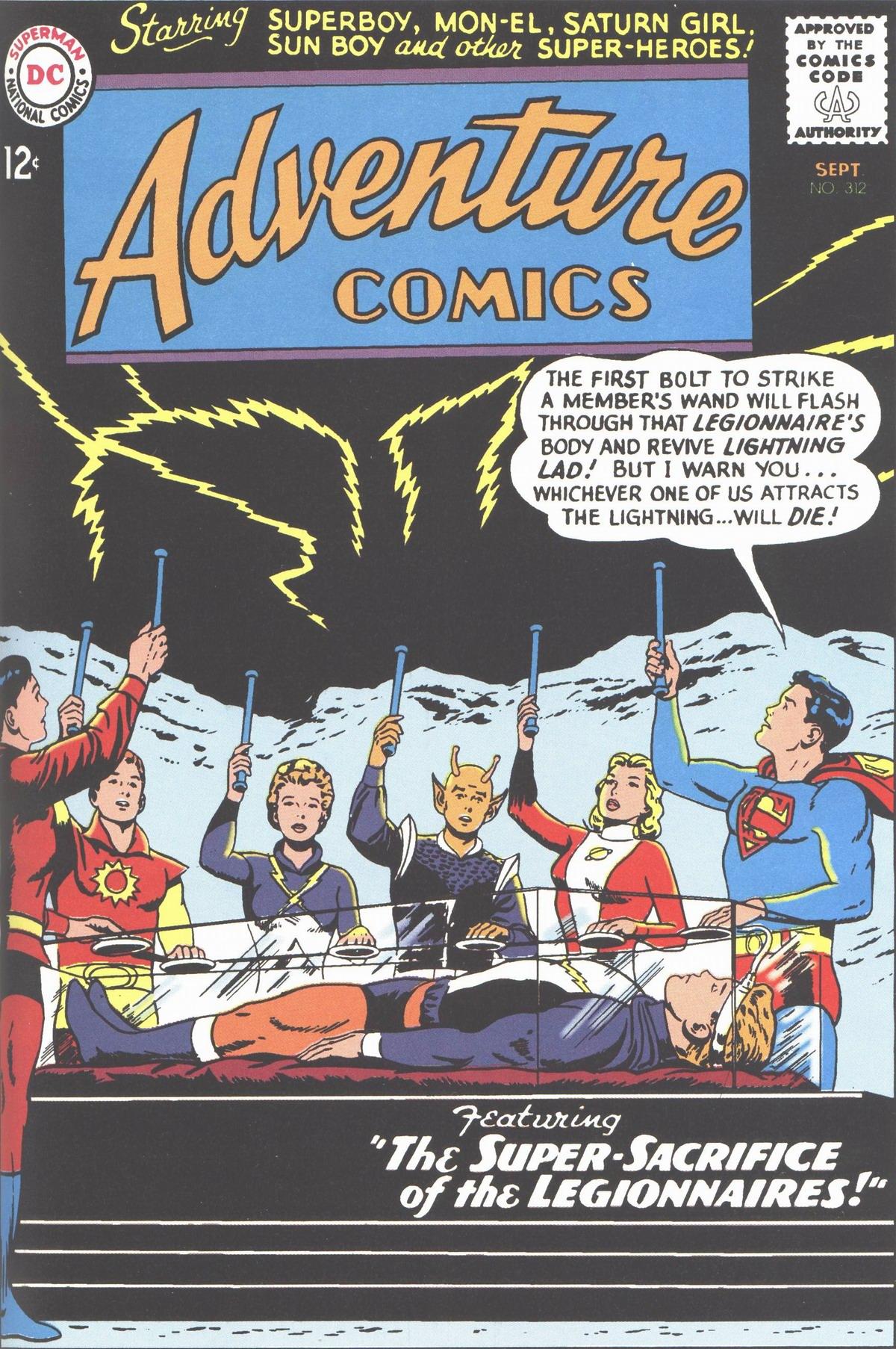 Adventure Comics (1938) 312 Page 1