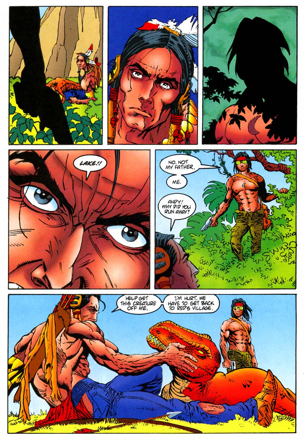 Read online Turok, Dinosaur Hunter (1993) comic -  Issue #47 - 14