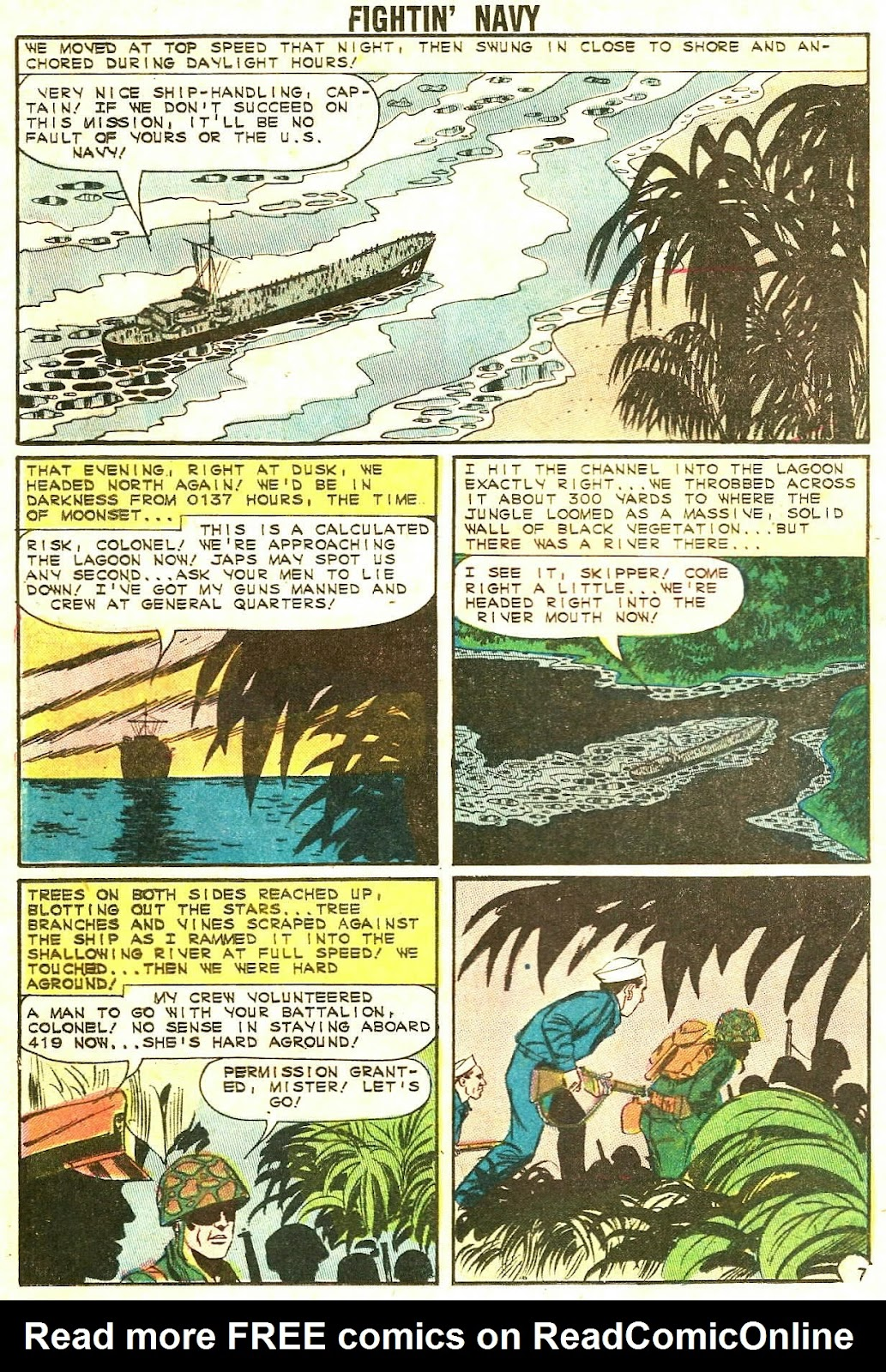 Read online Fightin' Navy comic -  Issue #114 - 20