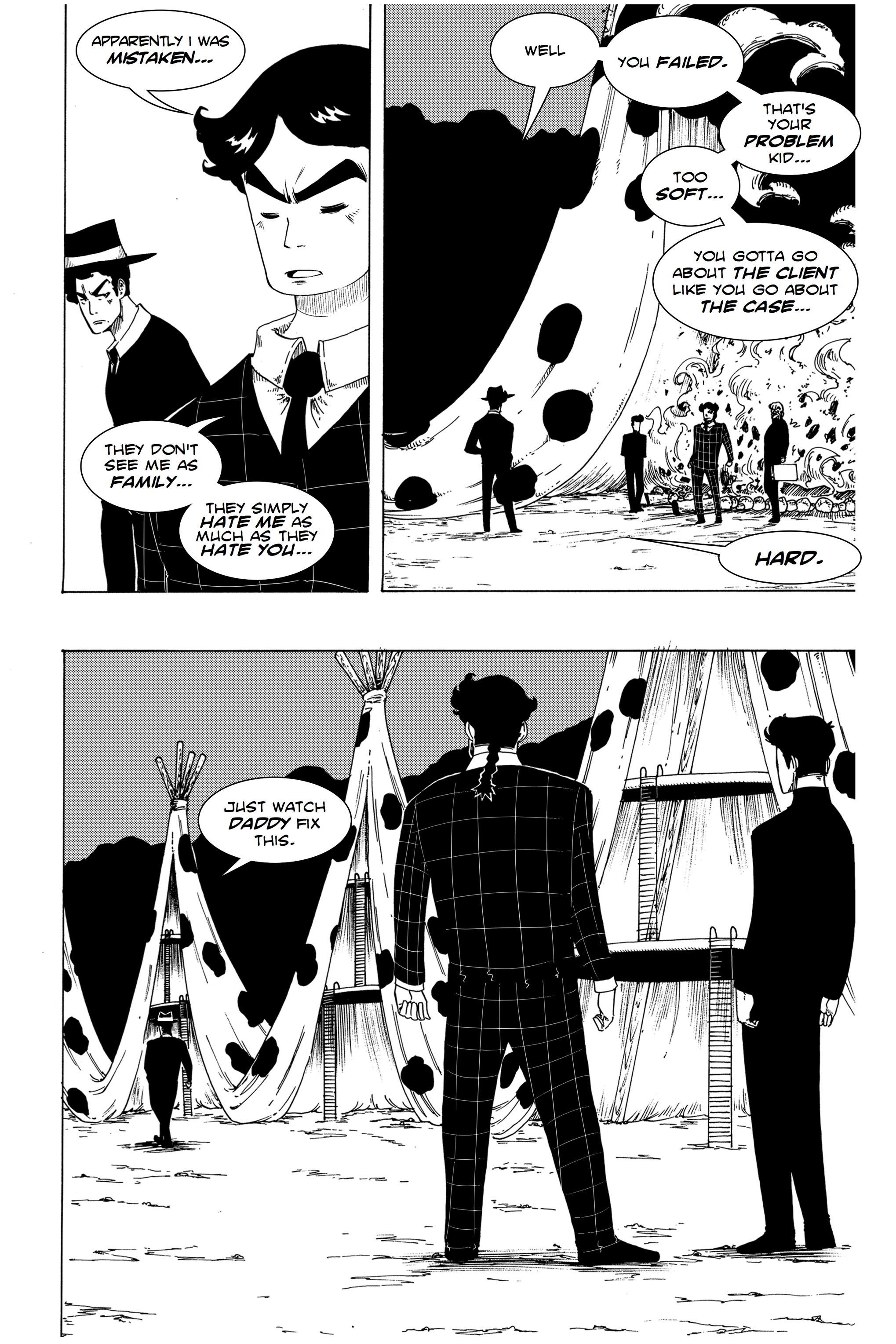 Read online Silvertongue 30xx Vol. 1 comic -  Issue # Full - 28