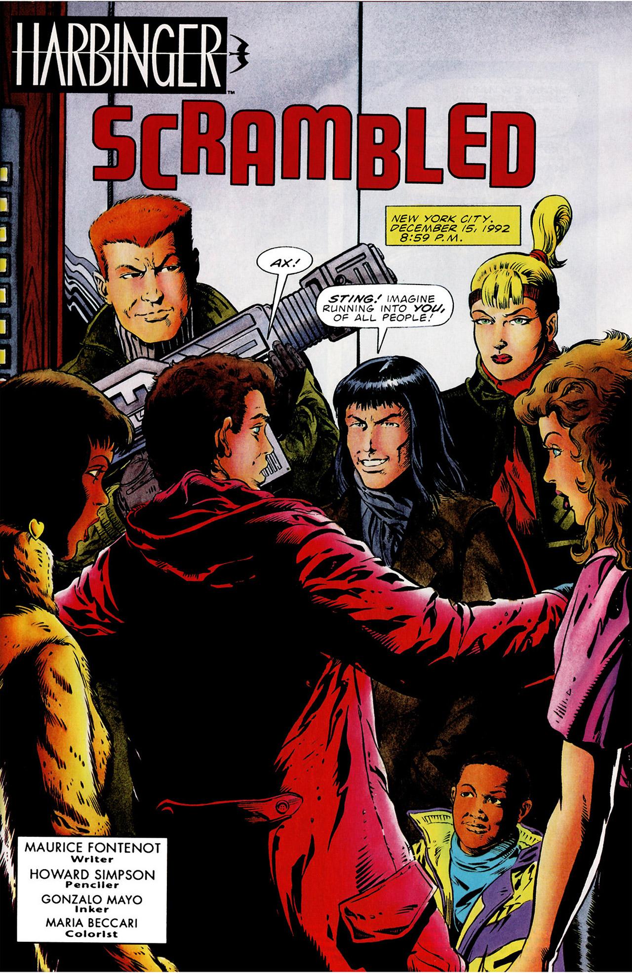 Read online Harbinger (1992) comic -  Issue #16 - 2