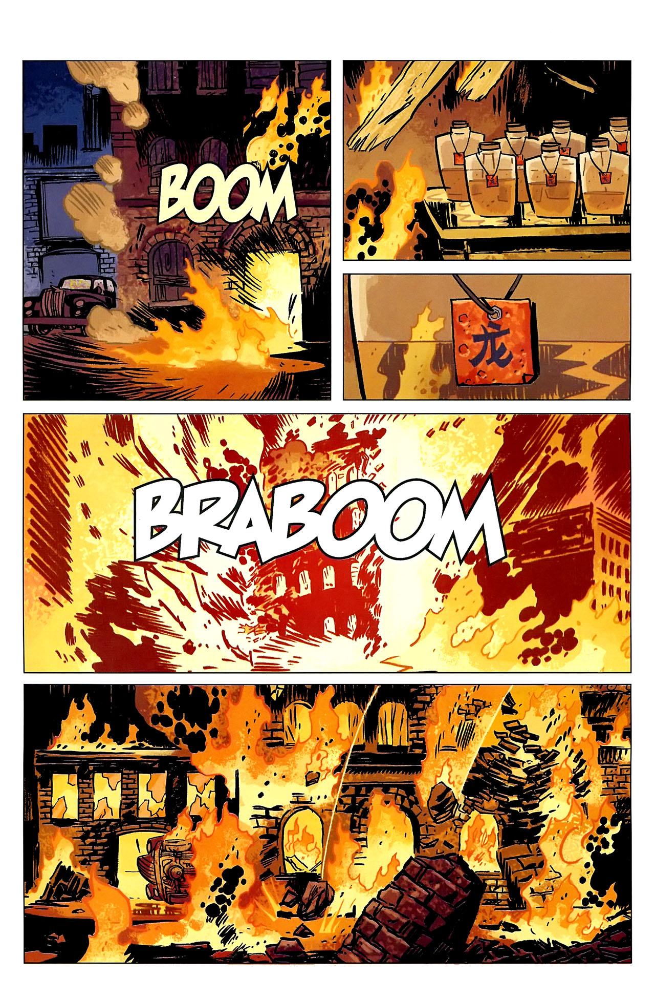 Read online Lobster Johnson: The Iron Prometheus comic -  Issue #2 - 23