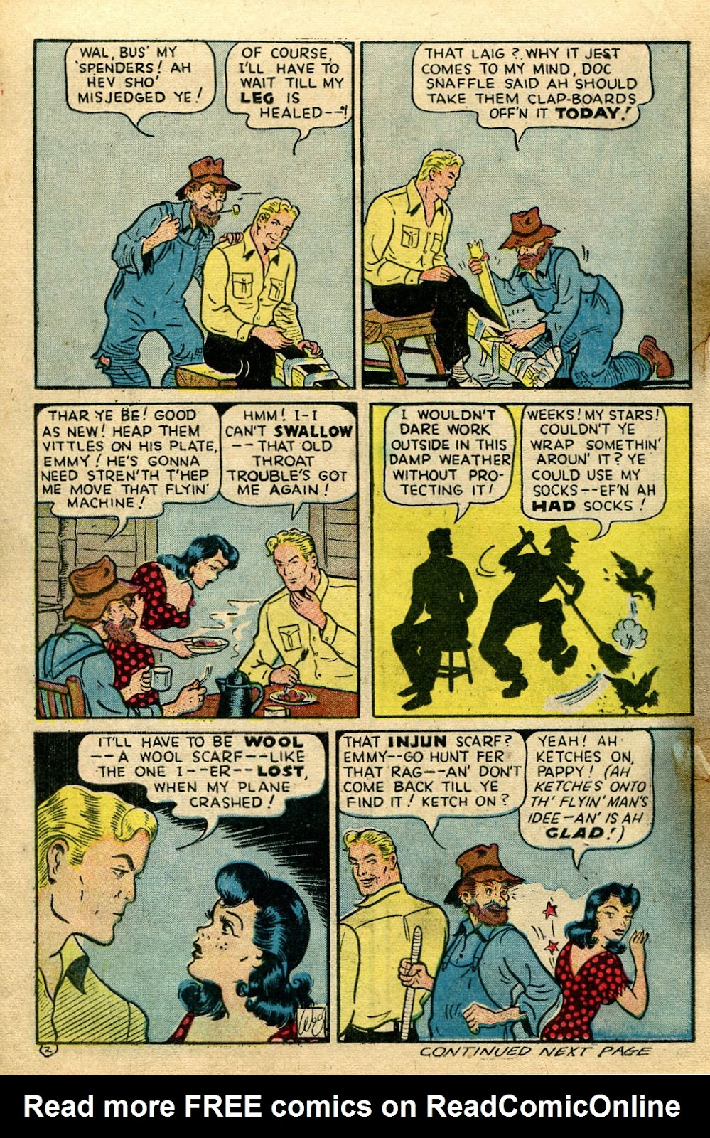 Read online Famous Funnies comic -  Issue #135 - 14