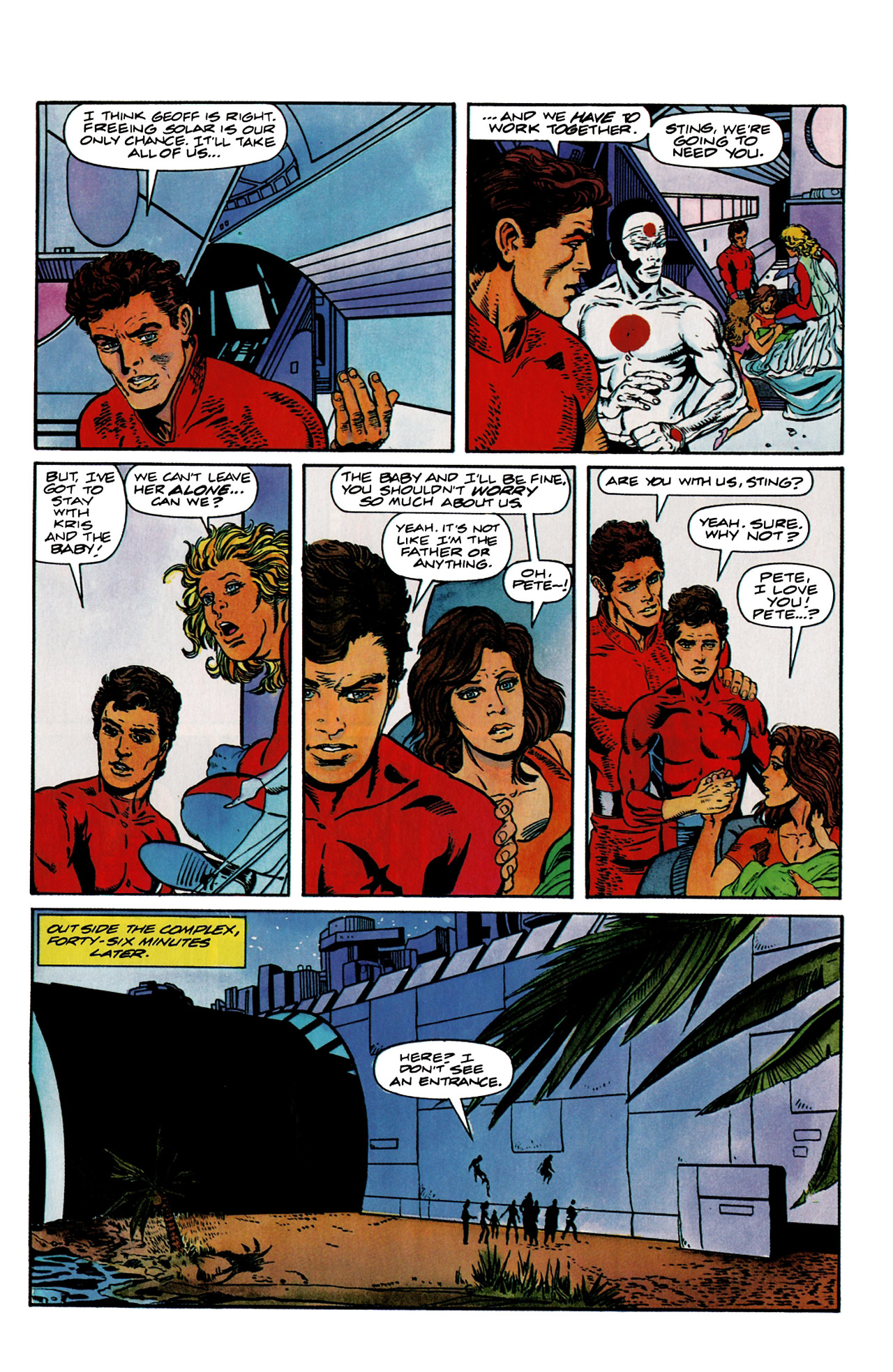 Read online Harbinger (1992) comic -  Issue #9 - 9