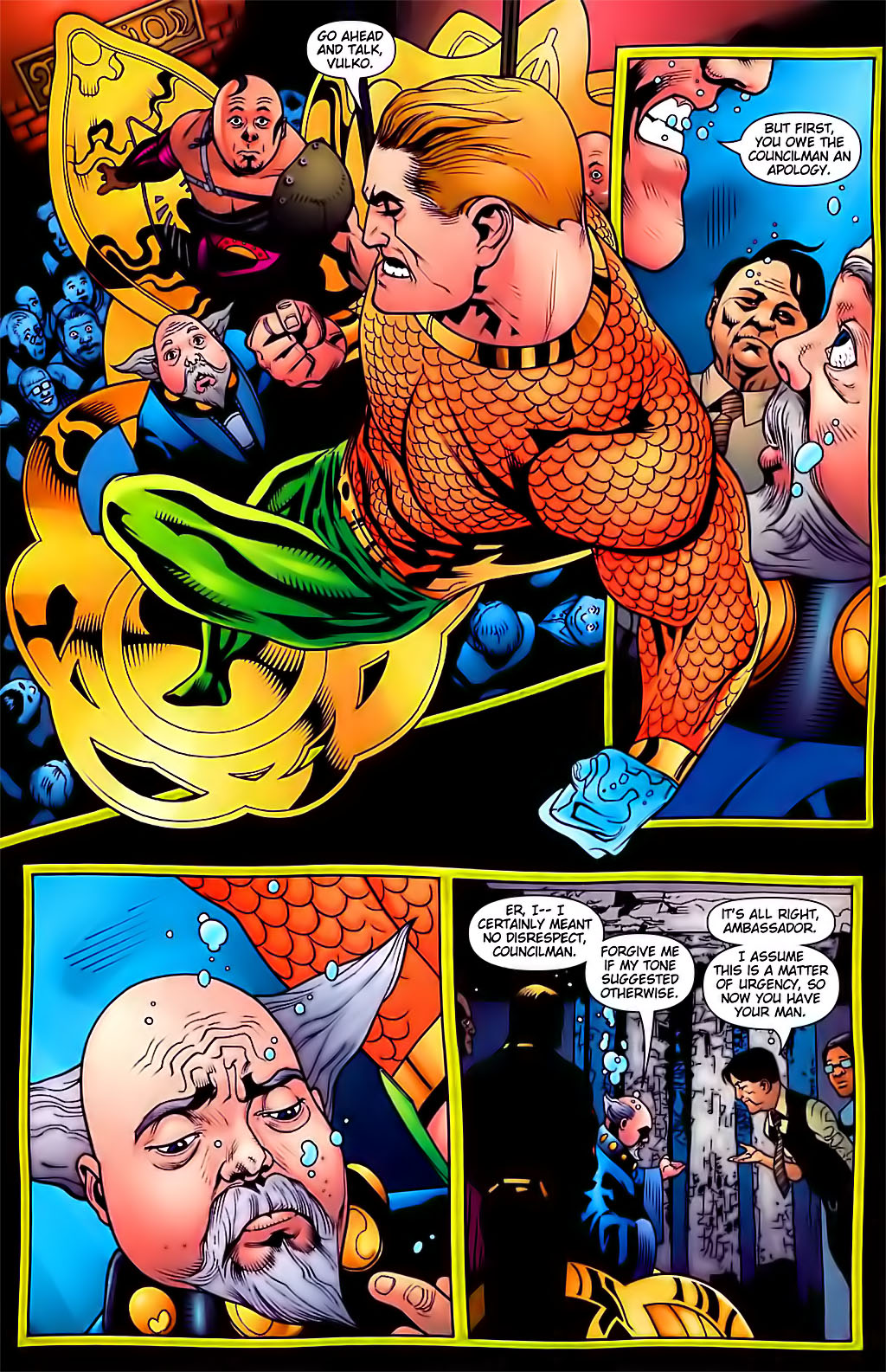 Read online Aquaman (2003) comic -  Issue #29 - 7
