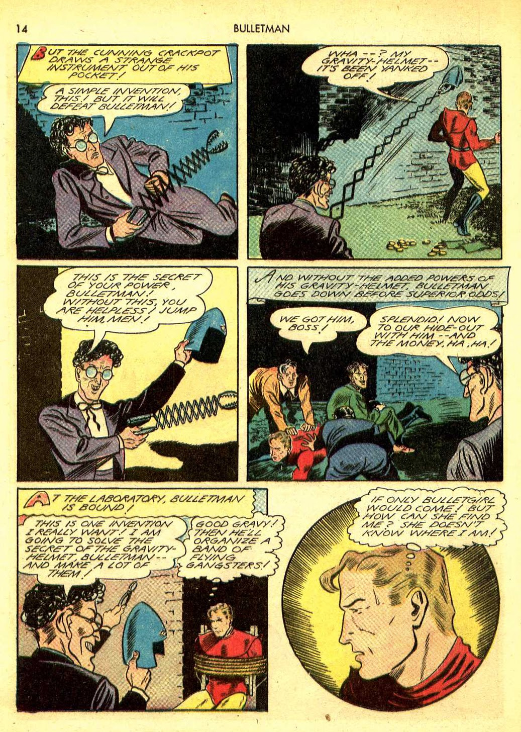 Bulletman issue 12 - Page 13