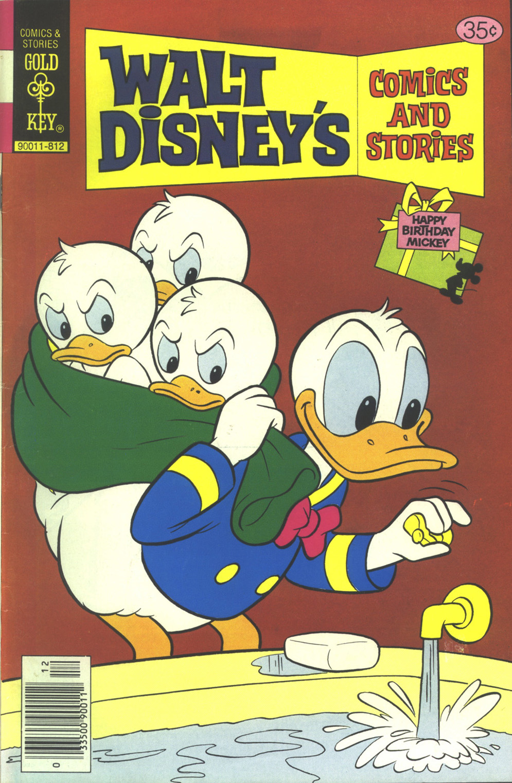 Walt Disney's Comics and Stories issue 459 - Page 1