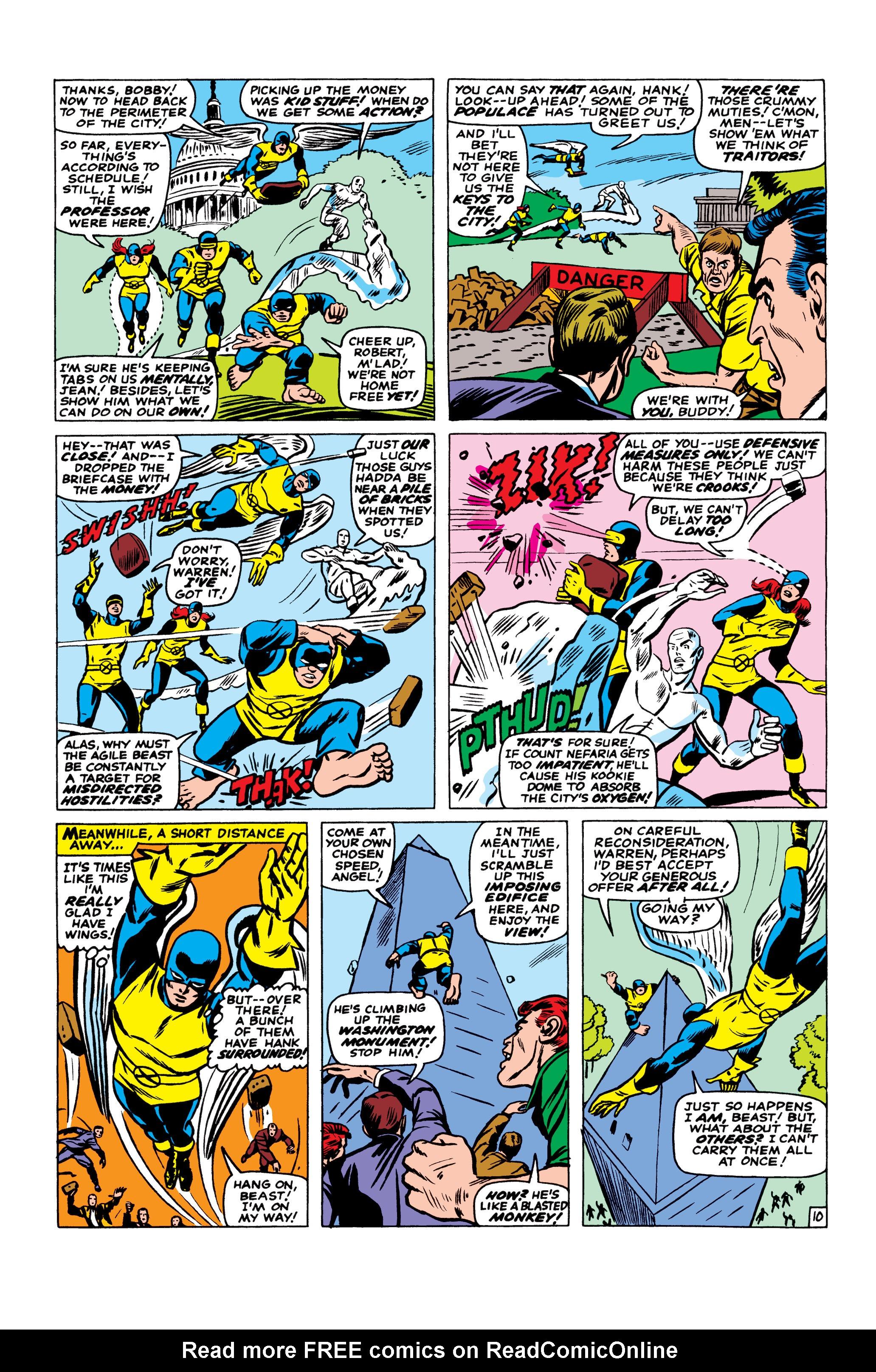 Read online Uncanny X-Men (1963) comic -  Issue #23 - 11