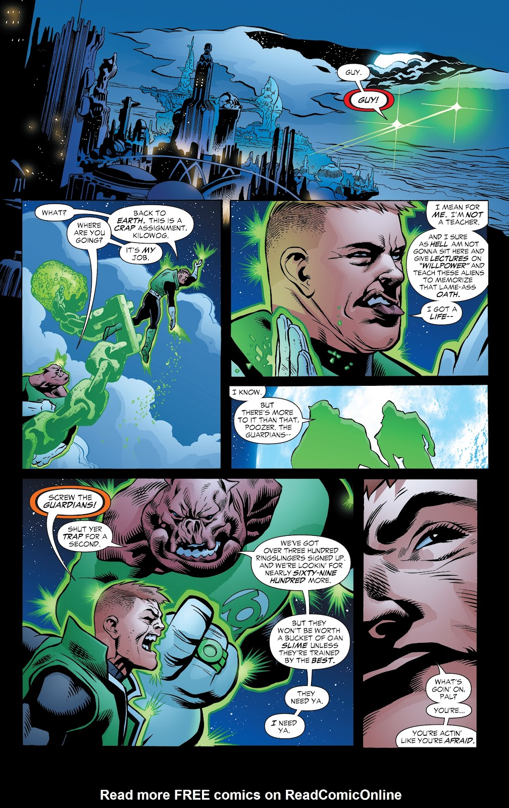 Read online Green Lantern by Geoff Johns comic -  Issue # TPB 1 (Part 3) - 3