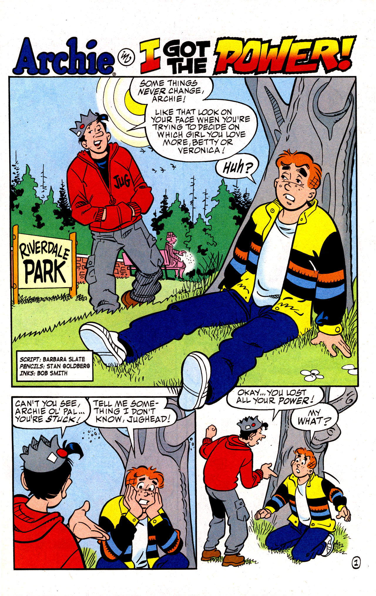Read online Archie (1960) comic -  Issue #574 - 17