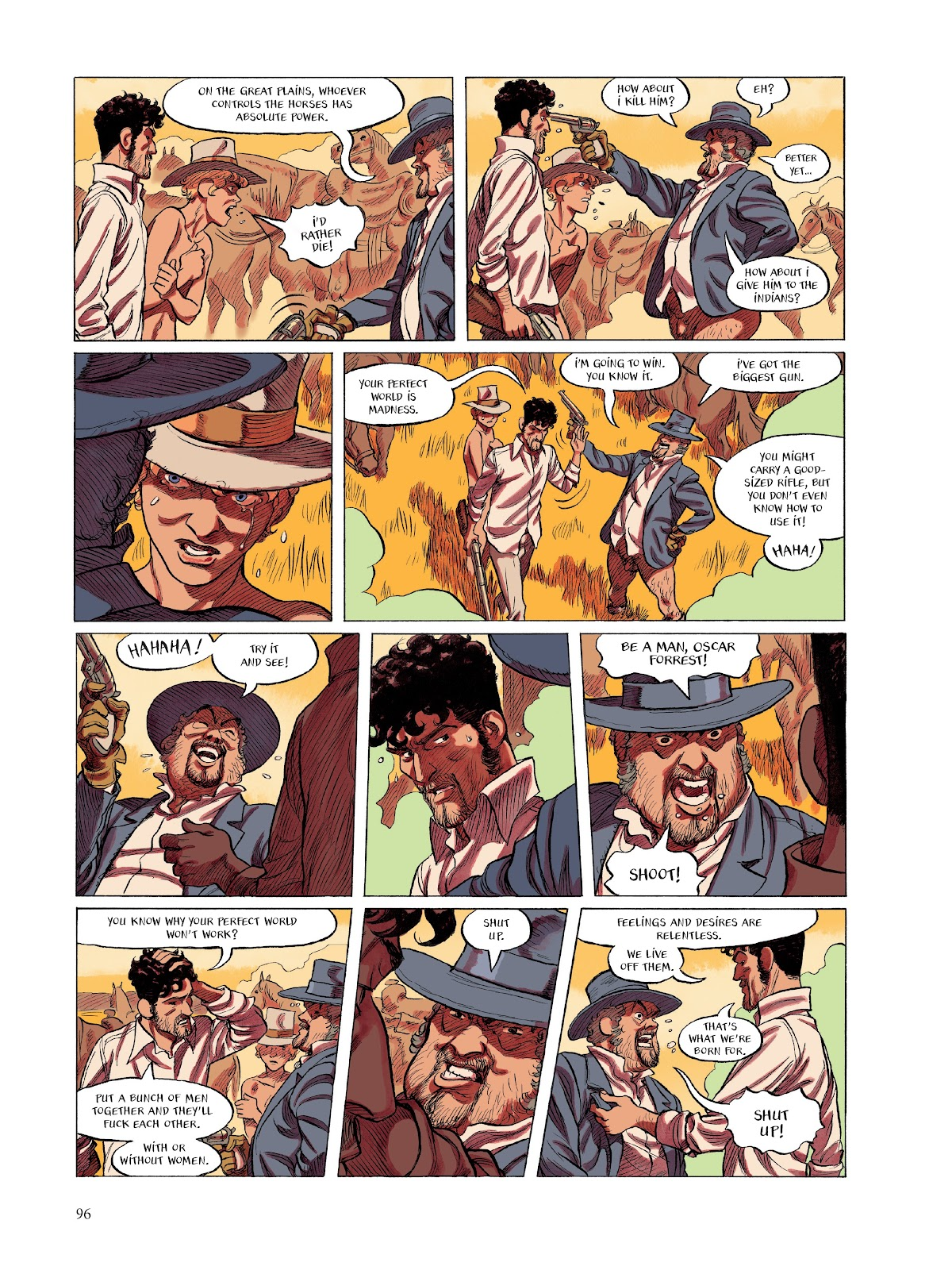 Read online The Smell of Starving Boys comic -  Issue # TPB - 97