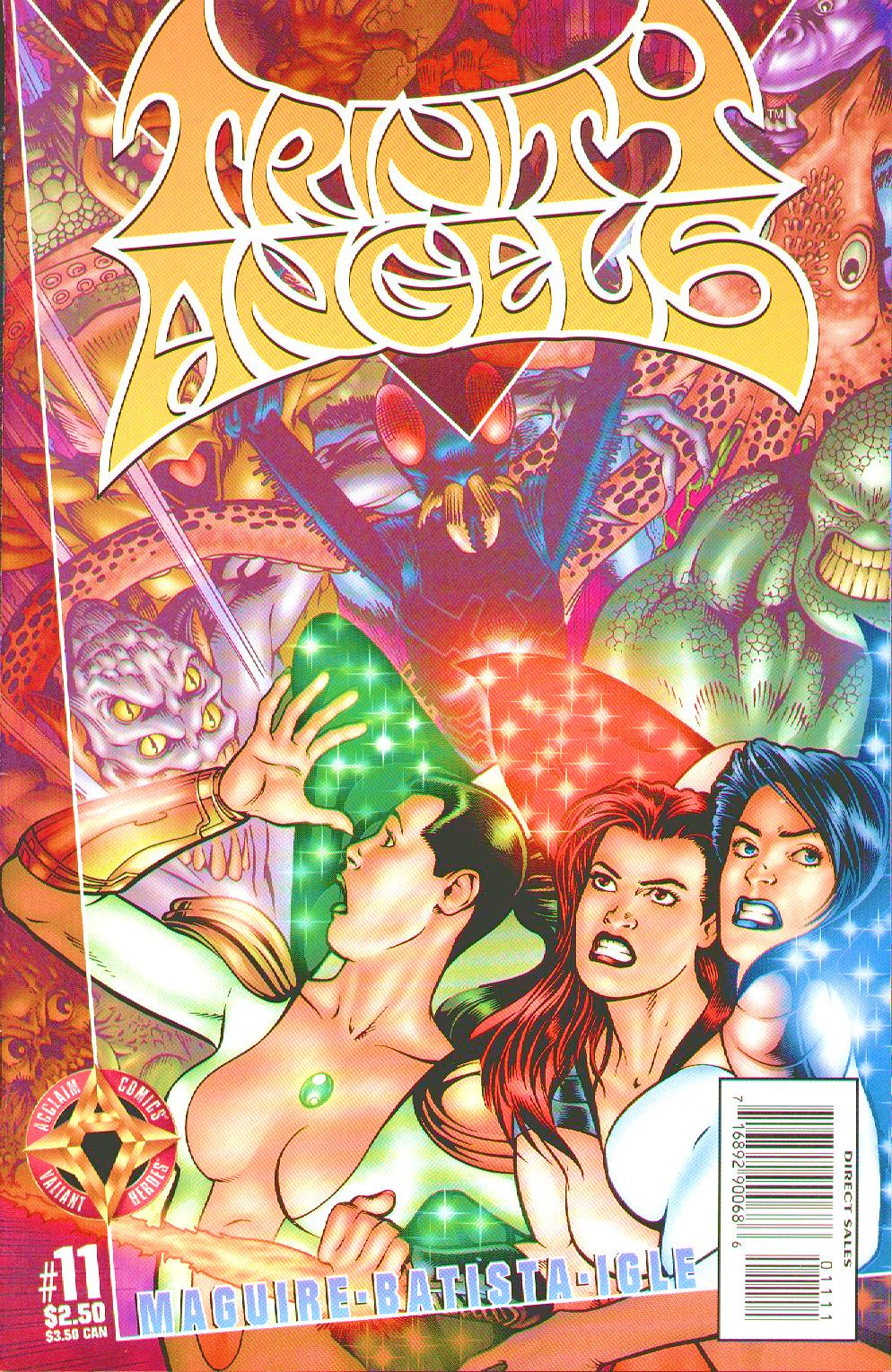 Read online Trinity Angels comic -  Issue #11 - 1