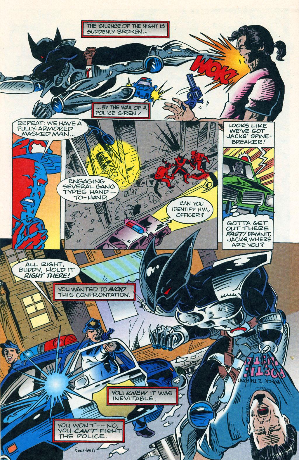 Read online ShadowHawk comic -  Issue #1 - 18